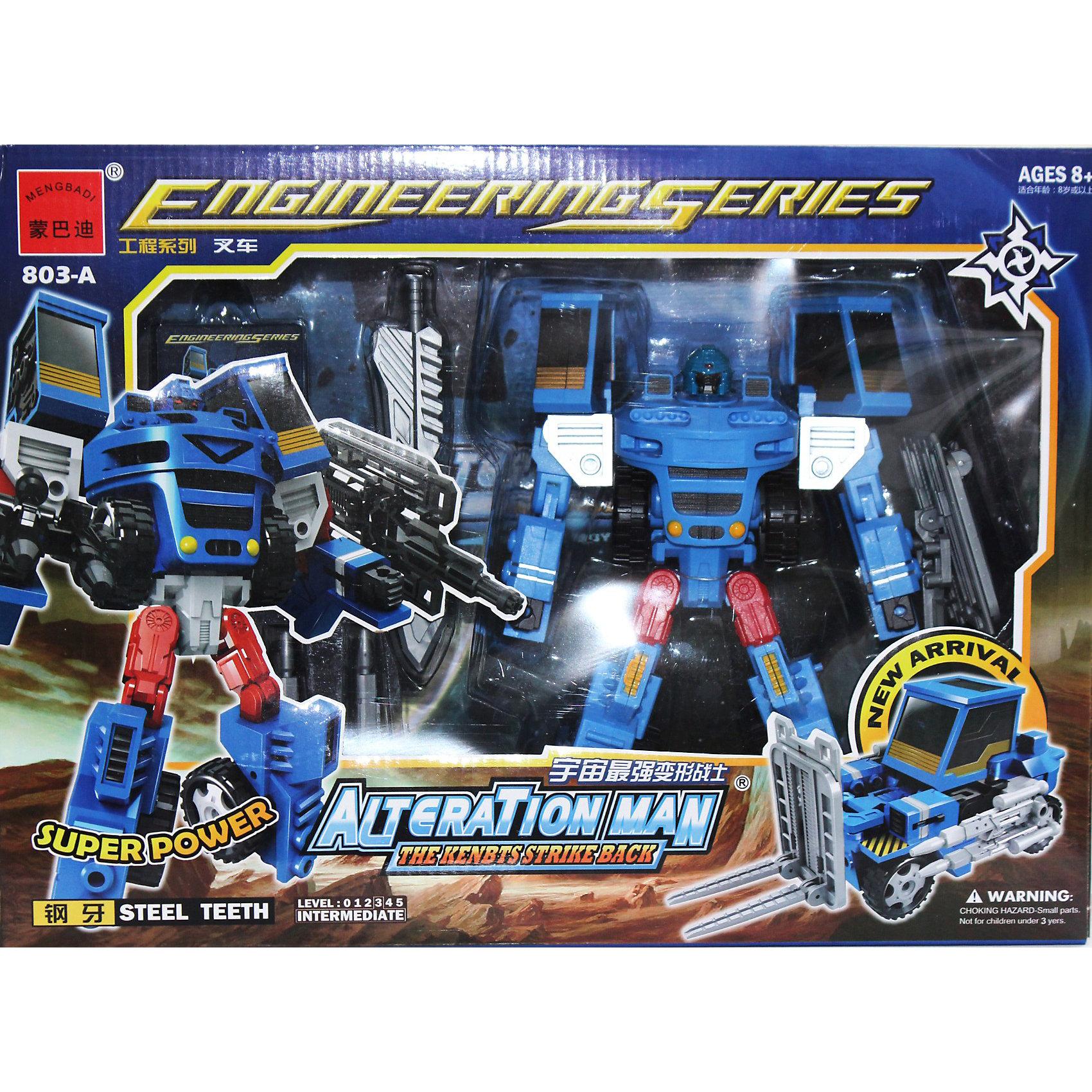 Робот-трансформер: Собирается в Погрузчик с Пушкой XXL, Play LineМашинки<br>Робот-трансформер: собирается в Погрузчик с Пушкой XXL, Play Line (Плей Лайн) – увлекательная игрушка для мальчиков, развивающая фантазию и логическое мышление, ведь это не одна, а две различные игрушки – робот и крутой погрузчик с пушкой. Ваш ребенок сможет придумывать все новые и новые сюжеты для игры.<br><br>Дополнительная информация:<br><br>- Размер упаковки (ДхШхВ): 41х12х30 см<br>- Вес: 450 г<br><br>Робот-трансформер: собирается в Погрузчик с Пушкой XXL, Play Line (Плей Лайн) станет желанным подарком для Вашего ребенка, с которым он почувствует себя главным героем фильма или мультфильма про Трансформеров и надолго увлечет его.<br><br>Игрушку Робот-трансформер: собирается в Погрузчик с Пушкой XXL, Play Line (Плей Лайн) можно купить в нашем магазине.<br><br>Ширина мм: 120<br>Глубина мм: 300<br>Высота мм: 410<br>Вес г: 450<br>Возраст от месяцев: 36<br>Возраст до месяцев: 144<br>Пол: Мужской<br>Возраст: Детский<br>SKU: 3539027