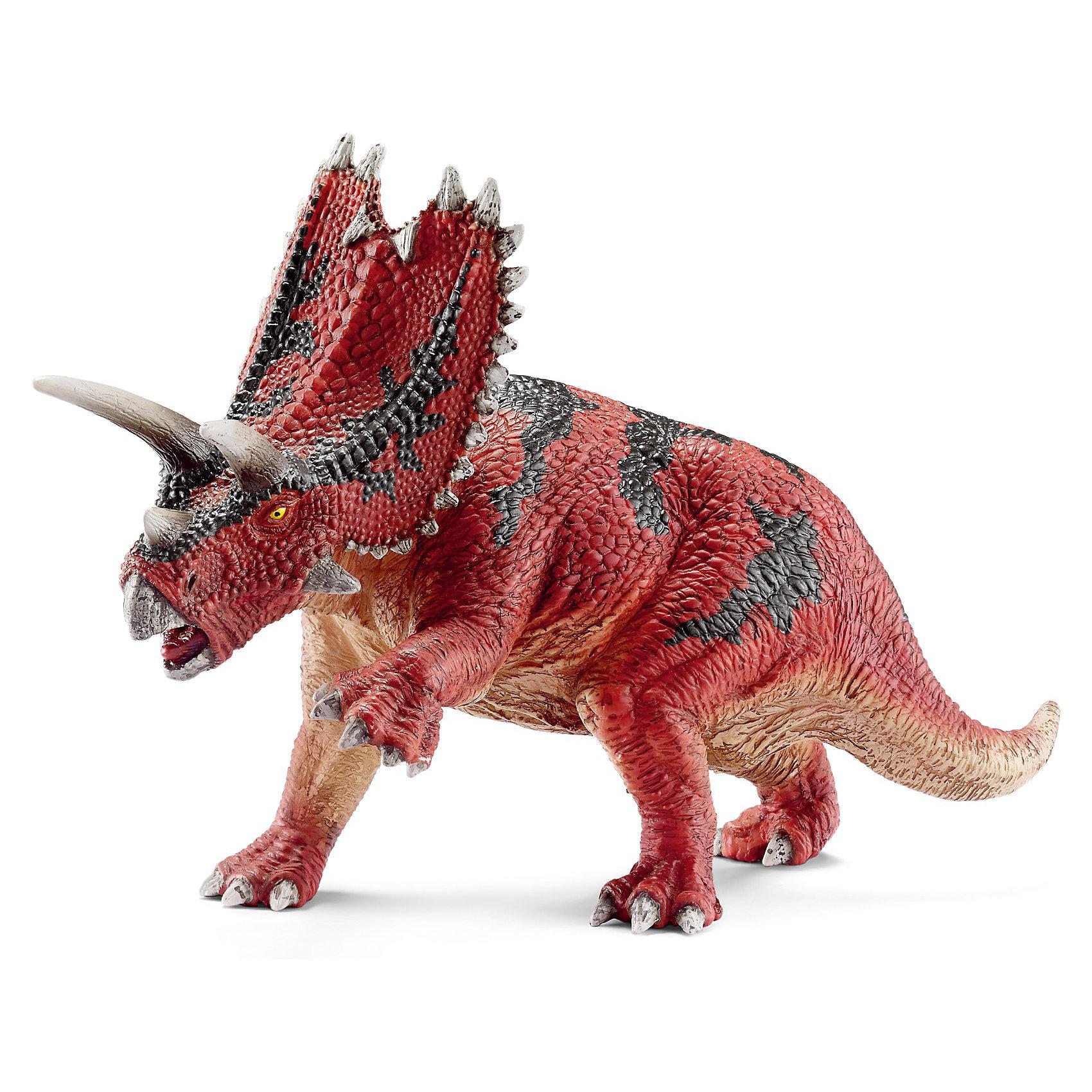 Паразавролопус, SchleichДраконы и динозавры<br>Мощная фигура доисторического динозавра Пентацератопс, представленная немецкой компанией Schleich (Шляйх) в виде готового к нападению животного яркого цвета, порадует всех поклонником миниатюрных фигурок и любителей самых древних обитателей планеты.<br><br>Красочный динозавр с крупным телом и большой головой с выступающими рогами производит впечатление очень опасного животного. Считается, что его череп, который достигал 3 метров в длину, был самым крупным среди хищных динозавров.<br><br>Фигурка доисторического животного от Schleich (Шляйх) создана с точной и детальной передачей всех особенностей строения и внешнего вида. Все фигурки раскрашены вручную, что придает им реалистичный вид и качественное исполнение. Всех поклонников Schleich (Шляйх) порадует грозный динозавр, прекрасно вписывающийся в уникальную коллекцию реалистичных персонажей.<br><br>Дополнительная информация:<br><br>Материал: каучуковый пластик<br>Размеры: 18 x 7 x 11,7 см<br>Вес игрушки - 221 грамм.<br><br>Паразавролопуса, Schleich (Шляйх) можно купить в нашем магазине.<br><br>Ширина мм: 200<br>Глубина мм: 116<br>Высота мм: 73<br>Вес г: 255<br>Возраст от месяцев: 36<br>Возраст до месяцев: 96<br>Пол: Мужской<br>Возраст: Детский<br>SKU: 3539485