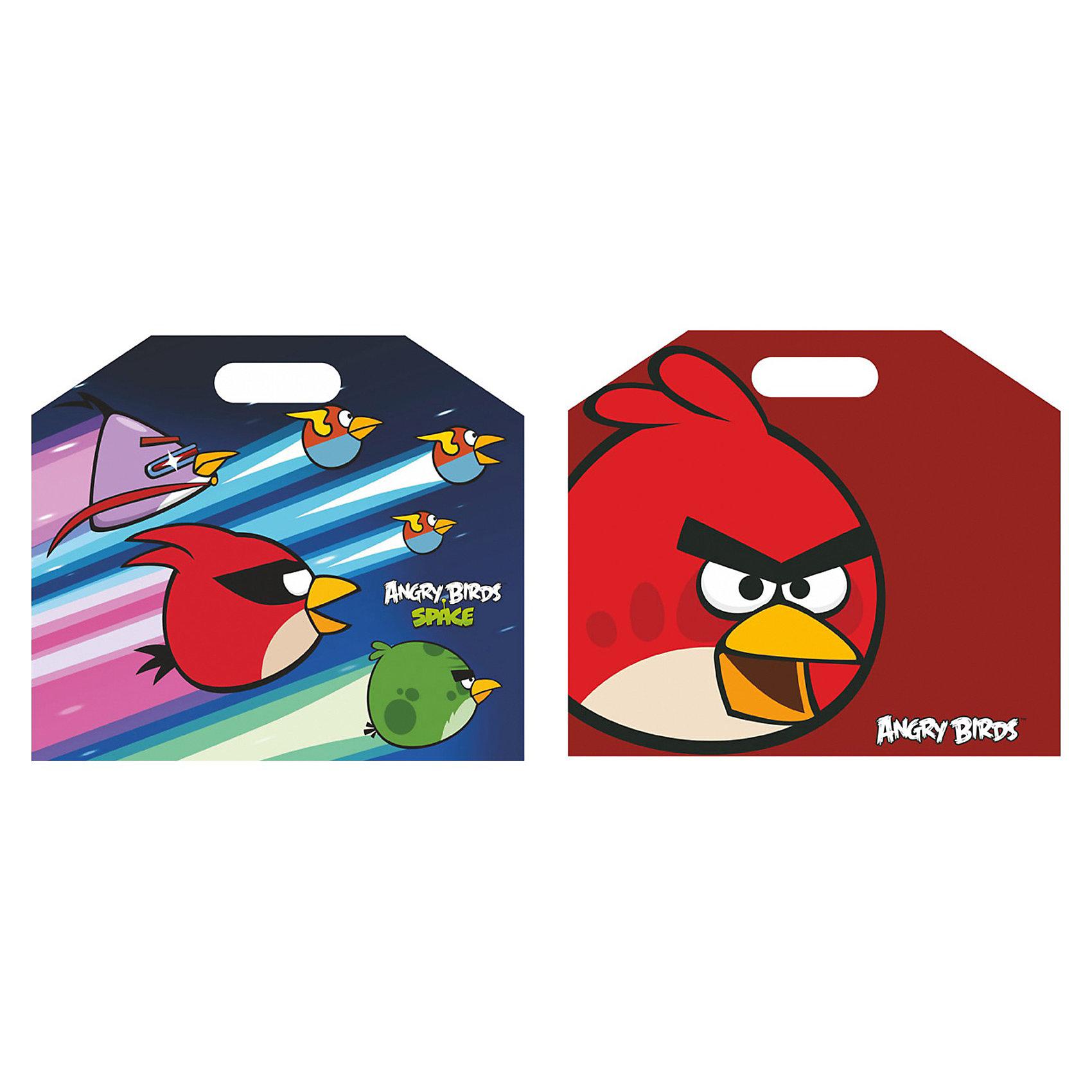 CENTRUM Папка-портфель А4,  Angry birds, CENTRUM папки канцелярские centrum папка регистр а4 5 см фиолетовая