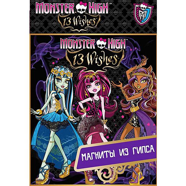 Набор по изготовлению магнитов , Monster High, CENTRUMНаборы из гипса<br>Набор по изготовлению магнитов , Monster High, CENTRUM (Центрум) – набор из серии сделай сам для изготовления магнитов на холодильник.<br>Набор дает возможность в домашних условиях изготовить магнитные изображениями героев Монстер Хай и раскрасить их в яркие цвета. При раскрашивании полученных фигурок ребенок получает возможность максимально проявить свои творческие способности и воображение. Работа с данным набором развивает мелкую моторику, координацию движений, фантазию и художественные способности. Весь процесс изготовления фигурок становится увлекательным и познавательным.<br><br>Дополнительная информация:<br><br>-В наборе: пластиковые формы, гипс - порошок, краски акварельные – 6 цветов, кисть, магнитная лента, инструкция<br><br>Набор по изготовлению магнитов , Monster High, CENTRUM (Центрум) - подарите ребенку возможность почувствовать себя настоящим скульптором!<br><br>Набор по изготовлению магнитов , Monster High, CENTRUM (Центрум) можно купить в нашем интернет-магазине.<br><br>Ширина мм: 50<br>Глубина мм: 220<br>Высота мм: 185<br>Вес г: 520<br>Возраст от месяцев: 84<br>Возраст до месяцев: 108<br>Пол: Женский<br>Возраст: Детский<br>SKU: 3540530