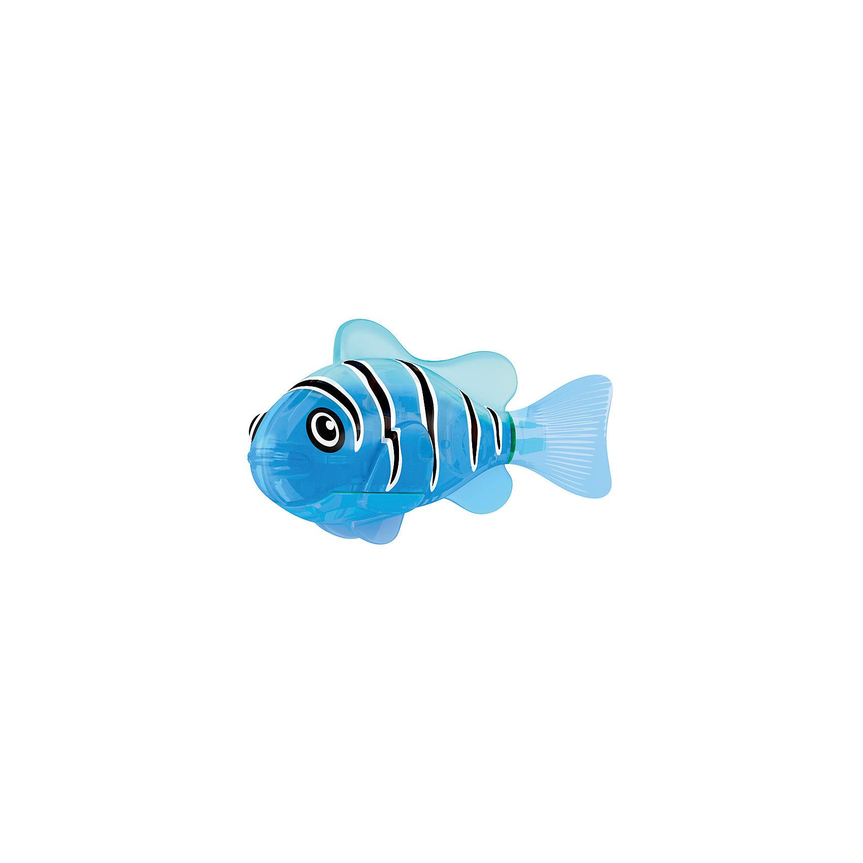 ZURU РобоРыбка светодиодная Синий маяк, RoboFish роборыбка zuru клоун 2501 4