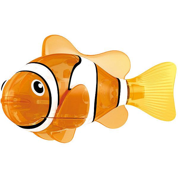 РобоРыбка светодиодная Красная Сирена, RoboFishРоборыбки<br>РобоРыбка светодиодная Красная Сирена, RoboFish (РобоФиш) - это инновационная рыбка, которая при соприкосновении с водой начинает не только плавать как живая, но и светиться.  <br><br>Благодаря встроенному светодиоду красного цвета, за рыбкой интересно наблюдать в темноте. Рыбок можно посадить в аквариум и любоваться ими, а можно запустить в ванной или бассейне и поплавать вместе с ними. Мягкий силиконовый хвост и электромагнитный мотор помогают ей двигаться в 5 различных направлениях. Игрушка плавает в воде в течение 4-4,5 минут, после чего ее можно вынуть из воды, и снова опустить в воду, чтобы рыбка заработала снова.<br><br>Комплектация: РобоРыбка, 4 батарейки, подставка<br><br>Дополнительная информация:<br><br>-Длина игрушки: около 7 см, высота: 3,5 см   <br>-Работает от 2х батареек типа А76 или RL44 (есть в комплекте 4 шт.)<br>-Материалы: силикон, пластмасса<br><br>Не знаете чем удивить своего ребенка? Подарите ему светящуюся РобоРыбку! РобоРыбки не только плавают в воде, но и светятся!<br><br>РобоРыбку светодиодную Красная Сирена, RoboFish (РобоФиш) можно купить в нашем магазине.<br>Ширина мм: 60; Глубина мм: 200; Высота мм: 50; Вес г: 90; Возраст от месяцев: 60; Возраст до месяцев: 144; Пол: Унисекс; Возраст: Детский; SKU: 3544547;