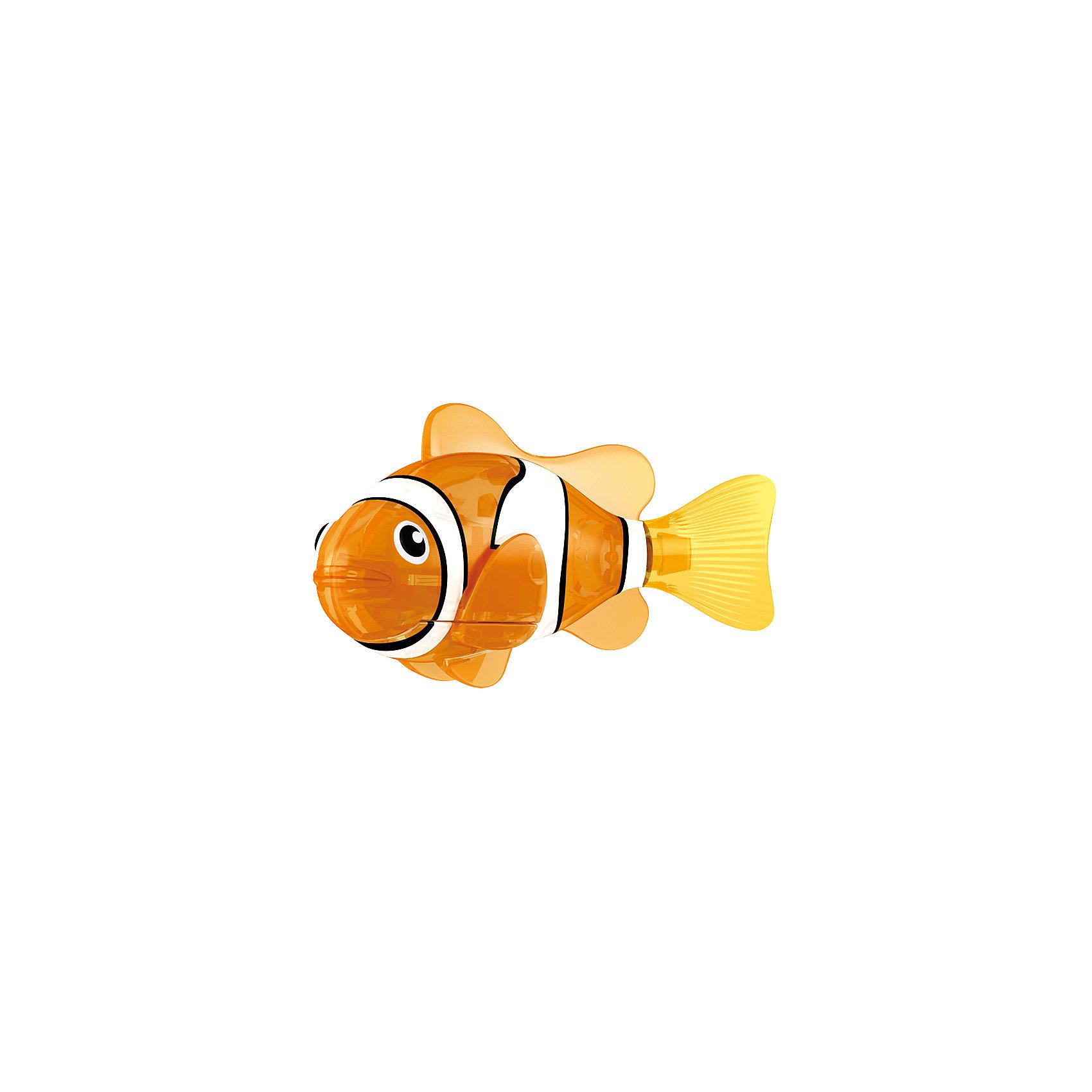 РобоРыбка светодиодная Красная Сирена, RoboFishРоборыбки и русалки<br>РобоРыбка светодиодная Красная Сирена, RoboFish (РобоФиш) - это инновационная рыбка, которая при соприкосновении с водой начинает не только плавать как живая, но и светиться.  <br><br>Благодаря встроенному светодиоду красного цвета, за рыбкой интересно наблюдать в темноте. Рыбок можно посадить в аквариум и любоваться ими, а можно запустить в ванной или бассейне и поплавать вместе с ними. Мягкий силиконовый хвост и электромагнитный мотор помогают ей двигаться в 5 различных направлениях. Игрушка плавает в воде в течение 4-4,5 минут, после чего ее можно вынуть из воды, и снова опустить в воду, чтобы рыбка заработала снова.<br><br>Комплектация: РобоРыбка, 4 батарейки, подставка<br><br>Дополнительная информация:<br><br>-Длина игрушки: около 7 см, высота: 3,5 см   <br>-Работает от 2х батареек типа А76 или RL44 (есть в комплекте 4 шт.)<br>-Материалы: силикон, пластмасса<br><br>Не знаете чем удивить своего ребенка? Подарите ему светящуюся РобоРыбку! РобоРыбки не только плавают в воде, но и светятся!<br><br>РобоРыбку светодиодную Красная Сирена, RoboFish (РобоФиш) можно купить в нашем магазине.<br><br>Ширина мм: 60<br>Глубина мм: 200<br>Высота мм: 50<br>Вес г: 90<br>Возраст от месяцев: 60<br>Возраст до месяцев: 144<br>Пол: Унисекс<br>Возраст: Детский<br>SKU: 3544547