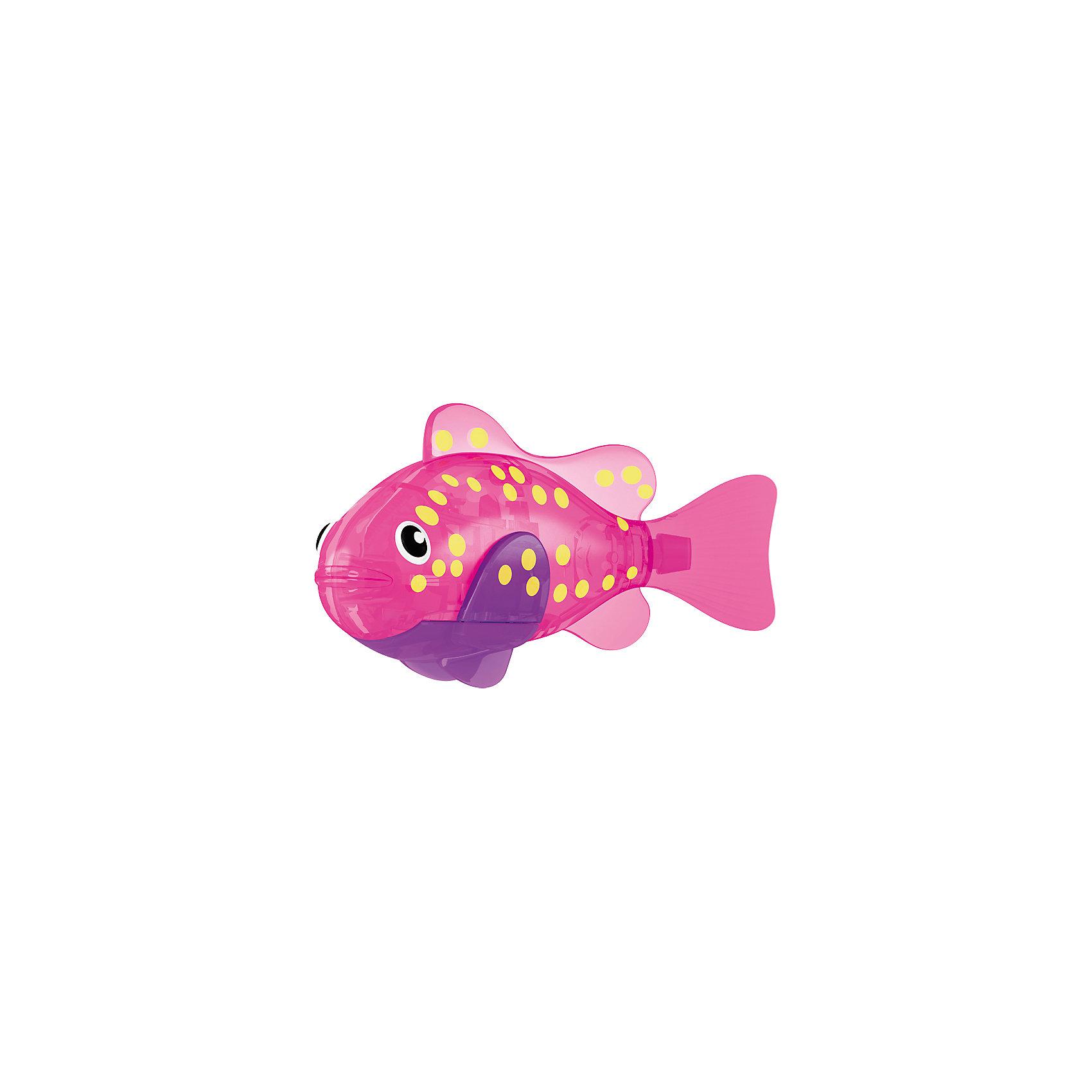 ZURU РобоРыбка светодиодная Вспышка, RoboFish роборыбка zuru клоун 2501 4