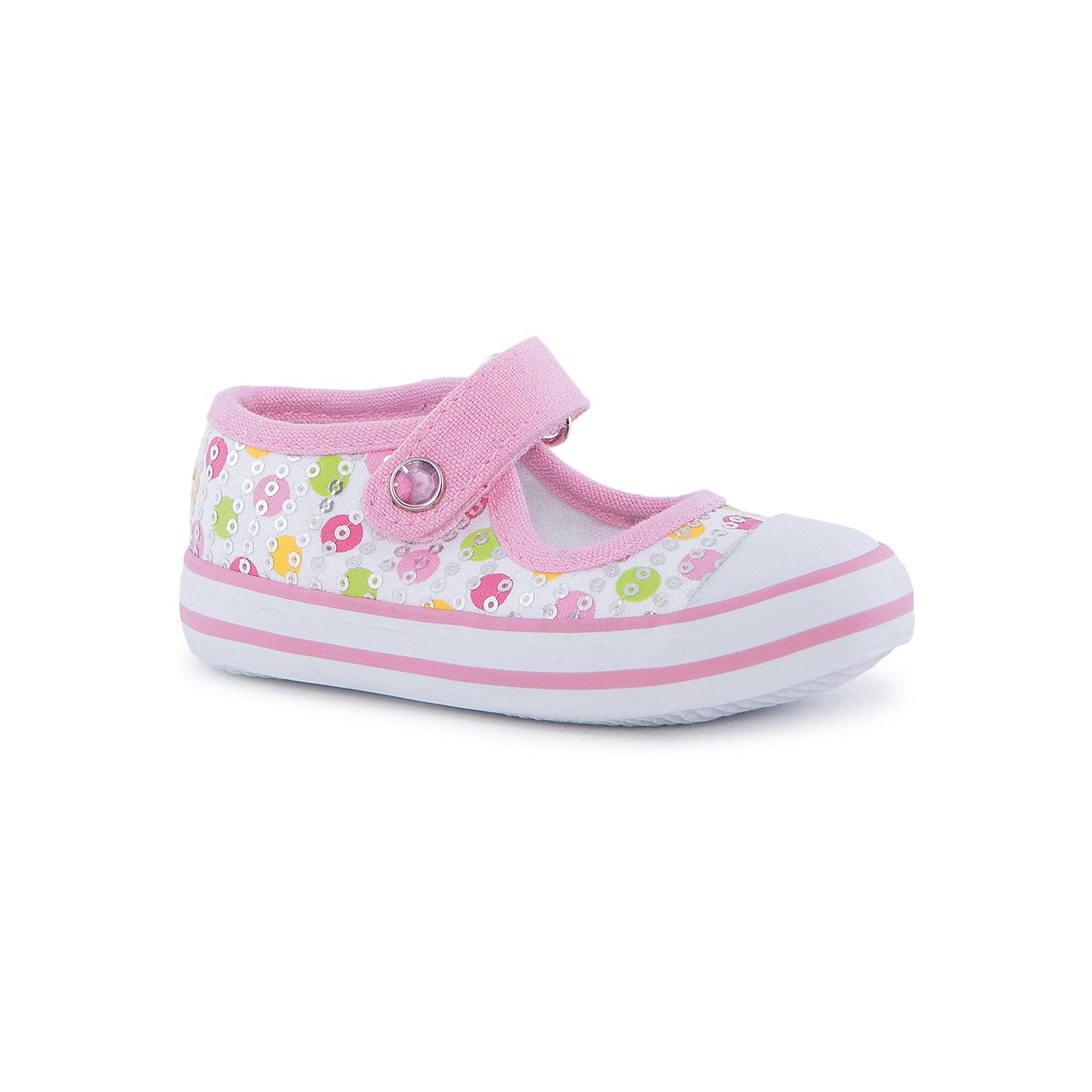 Туфли  для девочки PlayToday* стильные и комфортные туфли для девочки - превосходно подходят для ежедневных прогулок<br>* полуботинки выполнены из хлопковой ткани, которая легко поддается чистке <br>* удобная пятка укреплена жестким задником<br>* высокая гибкая подошва с рифлением обеспечивает оптимальный комфорт<br>* модель застегивается на липучку (ремешок с велькро); украшена фурнитурой<br>* наполненная носочная часть для правильного формирования стопы <br>* мысок-амартизатор - оформлен вставкой из резины, которая сокращает последствия от удара при активных играх<br>* декорированы пайетками<br><br>Состав:<br>верх - 100% хлопок, подкладка - 100% хлопок, подошва - резина<br><br>Туфли  для девочки PlayToday (Плэйтудей) можно купить в нашем магазине.<br><br>Ширина мм: 227<br>Глубина мм: 145<br>Высота мм: 124<br>Вес г: 325<br>Цвет: разноцветный<br>Возраст от месяцев: 9<br>Возраст до месяцев: 12<br>Пол: Женский<br>Возраст: Детский<br>Размер: 20,23,21,19,22,24<br>SKU: 3547212