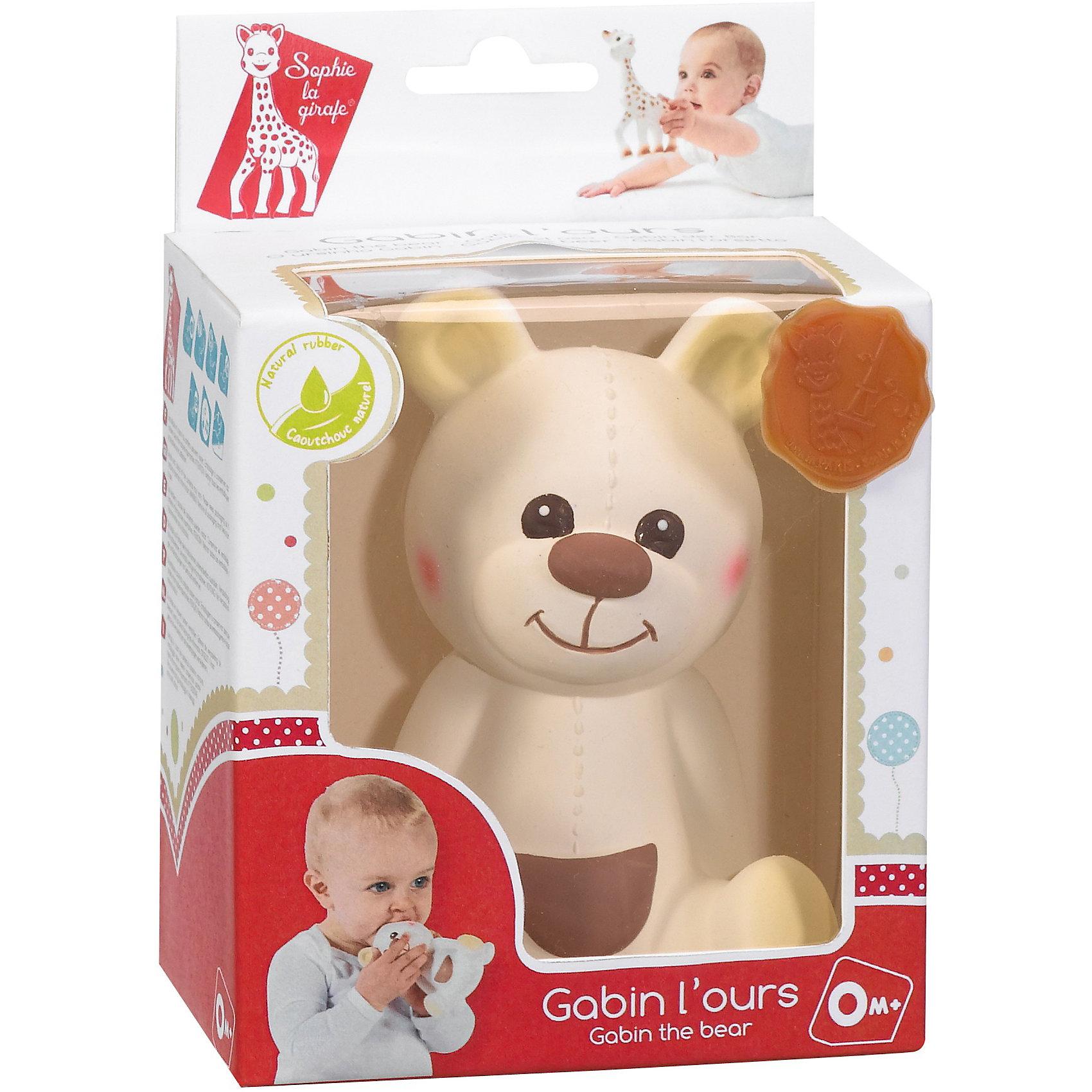 Развивающая игрушка Медвежонок Габэн, VulliРазвивающие игрушки<br>Развивающая игрушка Медвежонок Габэн от французской компании Vulli (Вулли) - это уникальная игрушка-прорезыватель, которая разработана ведущими педиатрами Франции. Ее отличительная особенность в том, что она помогает снимать воспаление с десен малыша, когда у него режутся зубки. Поверхность игрушки выполнена на основе специальной технологии SOFT TOUCH улучшает тактильные ощущения, что очень важно в первые годы жизни младенца. Когда малютка нажмет на Медвежонка Габэн Vulli (Вулли), он произведет писк, который - способствует развитию слуха. Яркие контрастные краски, в которые выкрашены детали прорезывателя, развивают зрение малыша<br>натуральный аромат каучука стимулирует органы обоняния ребенка.<br><br>Дополнительная информация:<br><br>-  Игрушка изготовлена из натурального каучука<br>покрашена пищевой краской, абсолютно безопасной для ребенка;<br>- Игрушка имеет разные выпуклости, за которые малышу будет удобно ее держать и кусать; <br>- Если нажать на медвежонка, то он издаст писк;<br>- Размер игрушки 17 см;<br>- Вес: 108 г. <br><br>Развивающую игрушку Медвежонка Габэн, Vulli (Вулли) можно купить в нашем интернет-магазине.<br><br>Ширина мм: 120<br>Глубина мм: 80<br>Высота мм: 170<br>Вес г: 108<br>Возраст от месяцев: 0<br>Возраст до месяцев: 36<br>Пол: Унисекс<br>Возраст: Детский<br>SKU: 3548836