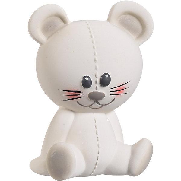 Развивающая игрушка Мышка Жозефина, VulliРезиновые игрушки<br>Развивающая игрушка Мышка Жозефина от французской компании Vulli (Вулли) - это уникальная игрушка-прорезыватель, которая разработана ведущими педиатрами Франции. Ее отличительная особенность в том, что она помогает снимать воспаление с десен малыша, когда у него режутся зубки. Поверхность игрушки выполнена на основе специальной технологии SOFT TOUCH улучшает тактильные ощущения, что очень важно в первые годы жизни младенца. Когда малютка нажмет на Мышку Жозефину Vulli (Вулли), она произведет писк, который - способствует развитию слуха. Яркие контрастные краски, в которые выкрашены детали прорезывателя, развивают зрение малыша<br>натуральный аромат каучука стимулирует органы обоняния ребенка.<br><br>Дополнительная информация:<br><br>-  Игрушка изготовлена из натурального каучука<br>покрашена пищевой краской, абсолютно безопасной для ребенка;<br>- Игрушка имеет разные выпуклости, за которые малышу будет удобно ее держать и кусать; <br>- Если нажать на мышку, то он издаст писк, что будет помогать понимать причинно-следственную связь между действием и звуком;<br>- Размер игрушки: 12 х 17 х 8 см;<br>- Вес: 93 г. <br><br>Развивающую игрушку Мышку Жозефину, Vulli (Вулли) можно купить в нашем интернет-магазине.<br><br>Ширина мм: 120<br>Глубина мм: 80<br>Высота мм: 170<br>Вес г: 93<br>Возраст от месяцев: 0<br>Возраст до месяцев: 36<br>Пол: Унисекс<br>Возраст: Детский<br>SKU: 3548838