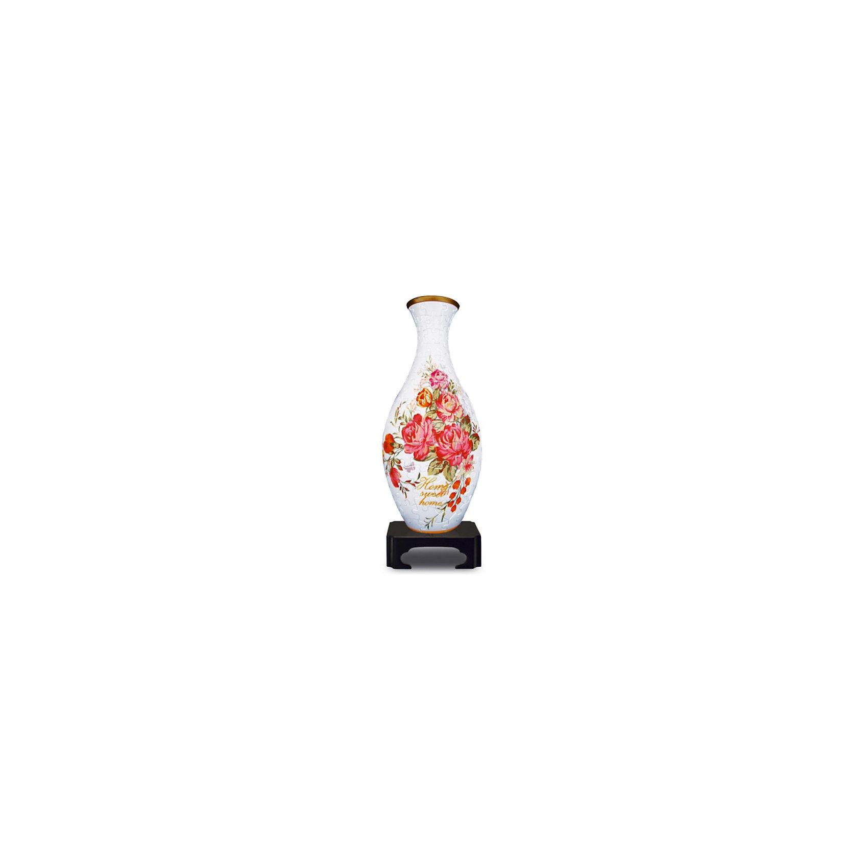 Pintoo Сфера-Пазл 3D Вазы: Бархатная Роза, 160 деталей,  Pintoo