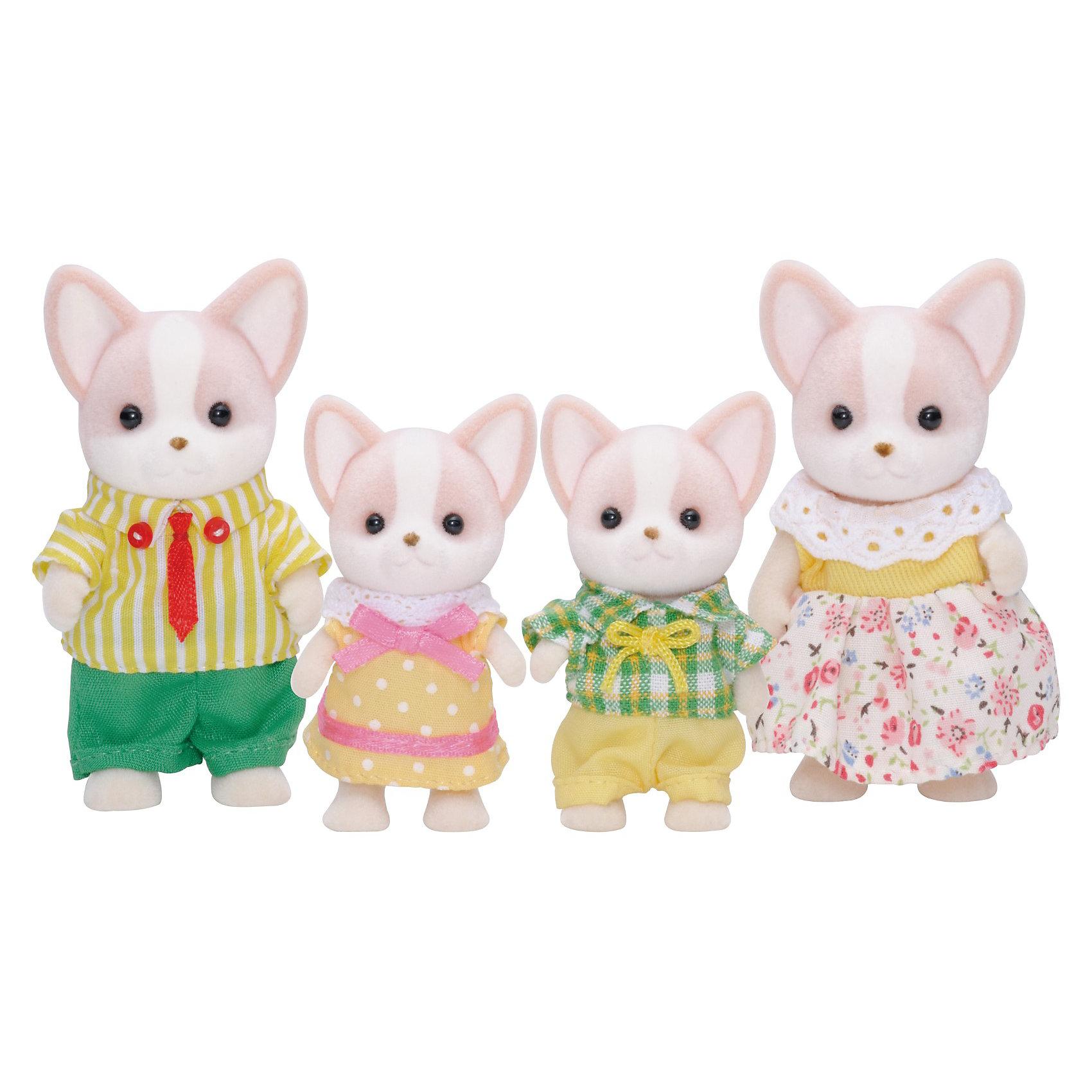 - Набор Семья чихуахуа, Sylvanian Families игровая фигурка sylvanian families набор семья белых мышей