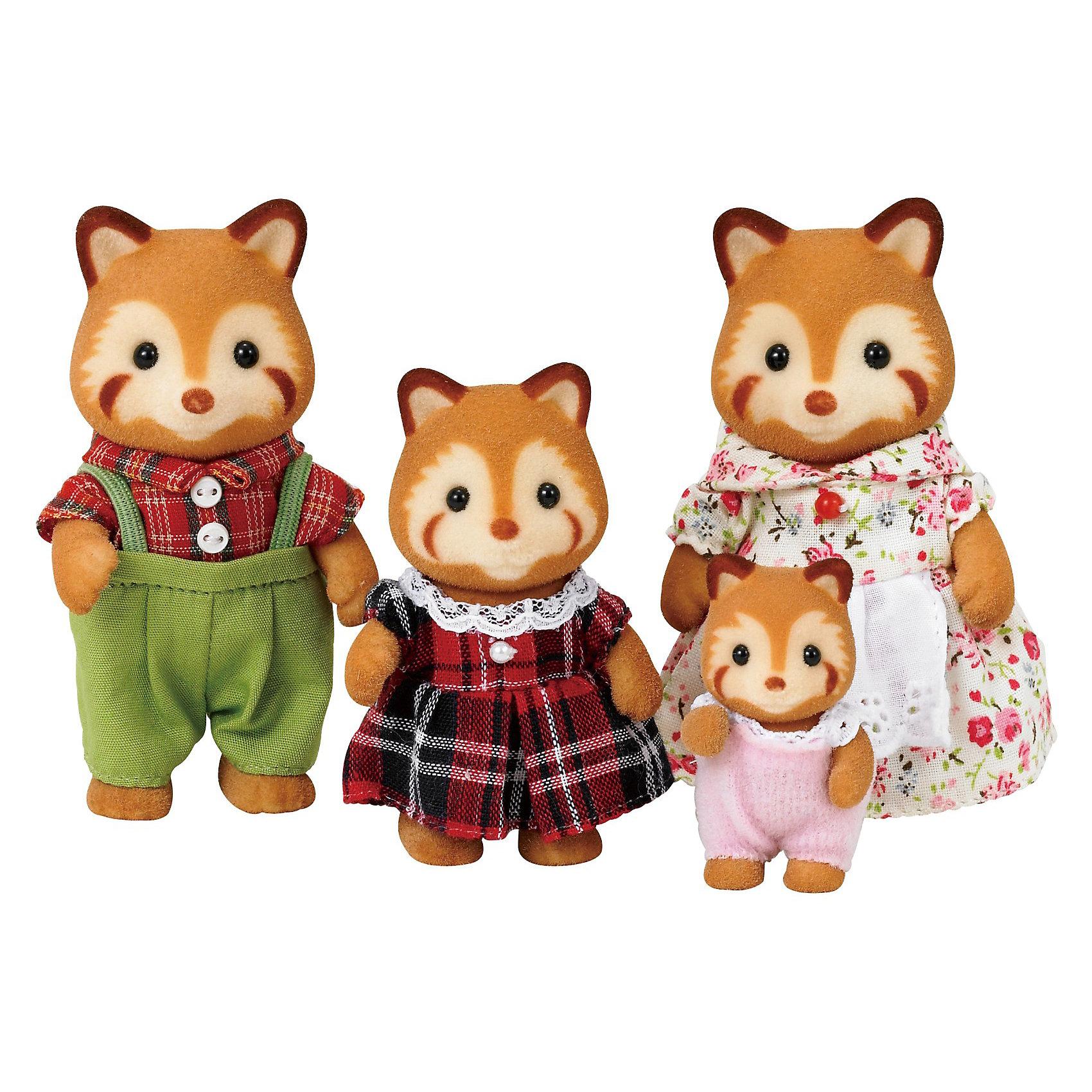 - Набор Семья красных панд Sylvanian Families