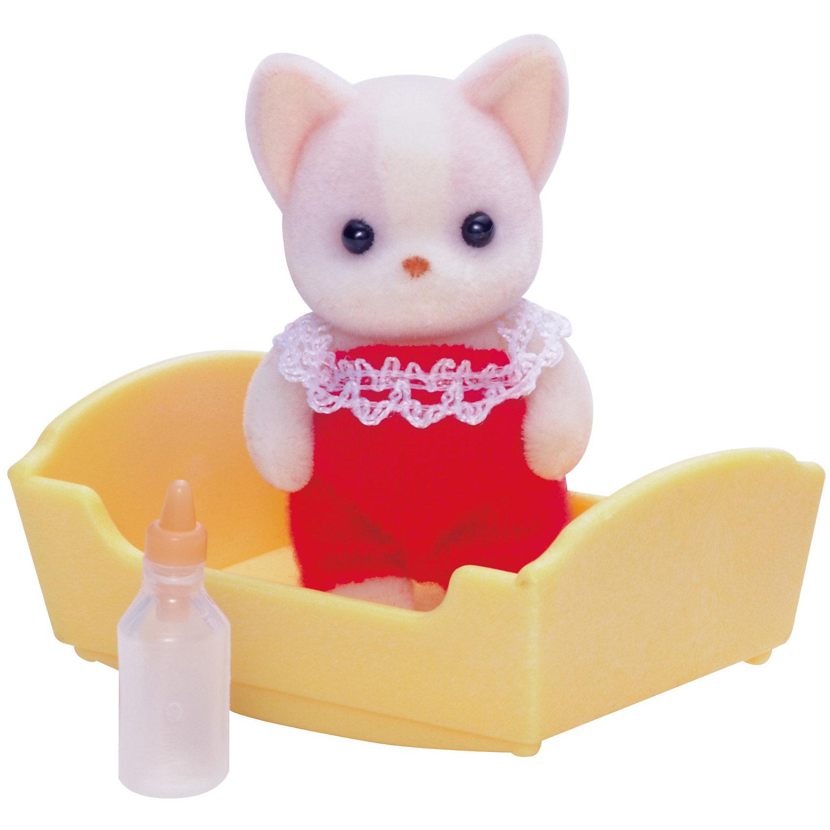- Набор Малыш Чихуахуа, Sylvanian Families фигурки игрушки sylvanian families набор малыш щенок