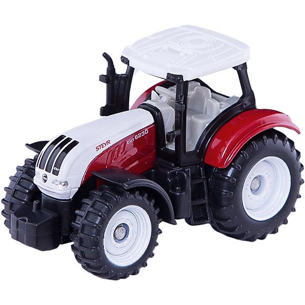 SIKU 1382 Трактор красно-белыйМашинки<br>Трактор 1382, Siku, станет прекрасным пополнением коллекции юного любителя техники. Модель является точной копией настоящего маневренного трактора-погрузчика Steyr и отличается высокой степенью детализации и тщательной проработкой всех элементов. Множество реалистичных деталей, таких как сиденье с рулем в съемной кабине водителя, выхлопная труба, лесенка в кабину делают игру с машиной еще интереснее и позволяют воспроизвести сценки из деревенской жизни. Мощные подвижные колеса с рифлеными шинами обеспечивают трактору хорошую проходимость по любой поверхности. Корпус модели выполнен из металла, детали изготовлены из ударопрочной пластмассы.<br><br>Дополнительная информация:<br><br>- Материал: металл, пластик.<br>- Размер: 3,8 x 9,7 x 7,8 см.<br>- Вес: 41 гр.<br><br>1382 Трактор красно-белый, Siku, можно купить в нашем интернет-магазине.<br>Ширина мм: 95; Глубина мм: 81; Высота мм: 38; Вес г: 45; Возраст от месяцев: 36; Возраст до месяцев: 96; Пол: Мужской; Возраст: Детский; SKU: 3550864;