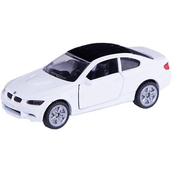 SIKU 1450 Машина BMW M3 купеМашинки<br>Машина BMW M3 купе, Siku, станет замечательным подарком для автолюбителей всех возрастов. Модель представляет из себя реалистичную копию популярного спорткара BMW M3 и отличается высокой степенью детализации и тщательной проработкой всех элементов. Машина оснащена прозрачными лобовыми стеклами, в салоне можно увидеть сиденья и руль, двери открываются. Колеса вращаются, широкие шины оборудованы спортивными колесными дисками. Корпус модели выполнен из металла, детали изготовлены из ударопрочной пластмассы.<br><br>Дополнительная информация:<br><br>- Материал: металл, пластик.<br>- Масштаб: 1:55.<br>- Размер машинки: 3,8 x 9,7 x 7,8 см.<br>- Размер упаковки: 10 x 8 x 3 см.<br>- Вес: 54 гр.<br><br>1450 Машину BMW M3 купе, Siku, можно купить в нашем интернет-магазине.<br>Ширина мм: 100; Глубина мм: 88; Высота мм: 35; Вес г: 57; Возраст от месяцев: 36; Возраст до месяцев: 96; Пол: Мужской; Возраст: Детский; SKU: 3550866;