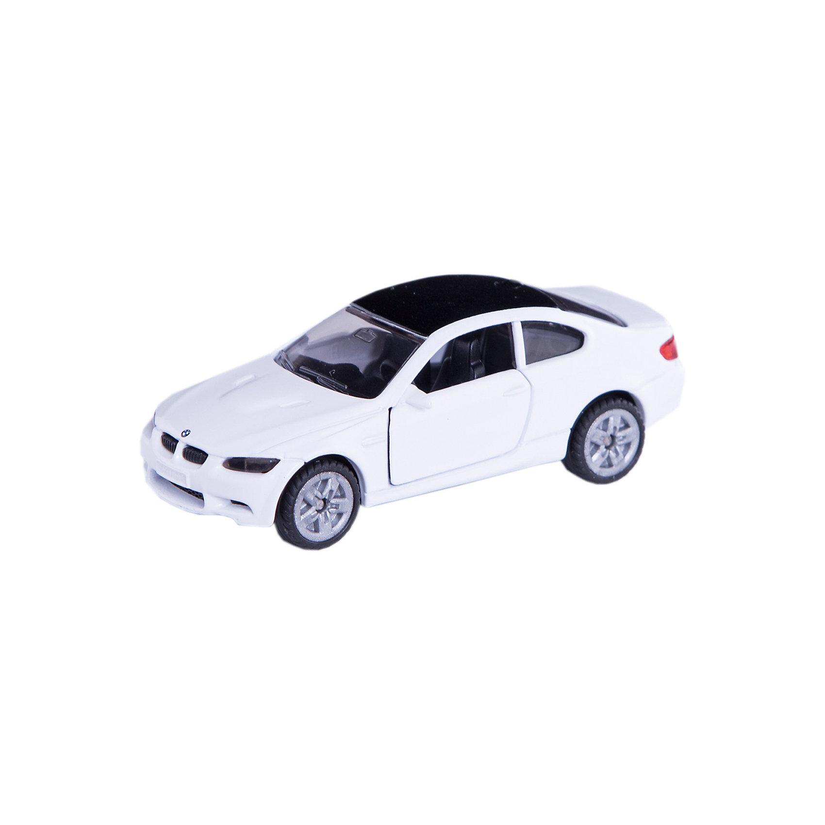 SIKU 1450 Машина BMW M3 купеКоллекционные модели<br>Машина BMW M3 купе, Siku, станет замечательным подарком для автолюбителей всех возрастов. Модель представляет из себя реалистичную копию популярного спорткара BMW M3 и отличается высокой степенью детализации и тщательной проработкой всех элементов. Машина оснащена прозрачными лобовыми стеклами, в салоне можно увидеть сиденья и руль, двери открываются. Колеса вращаются, широкие шины оборудованы спортивными колесными дисками. Корпус модели выполнен из металла, детали изготовлены из ударопрочной пластмассы.<br><br>Дополнительная информация:<br><br>- Материал: металл, пластик.<br>- Масштаб: 1:55.<br>- Размер машинки: 3,8 x 9,7 x 7,8 см.<br>- Размер упаковки: 10 x 8 x 3 см.<br>- Вес: 54 гр.<br><br>1450 Машину BMW M3 купе, Siku, можно купить в нашем интернет-магазине.<br><br>Ширина мм: 100<br>Глубина мм: 88<br>Высота мм: 35<br>Вес г: 57<br>Возраст от месяцев: 36<br>Возраст до месяцев: 96<br>Пол: Мужской<br>Возраст: Детский<br>SKU: 3550866