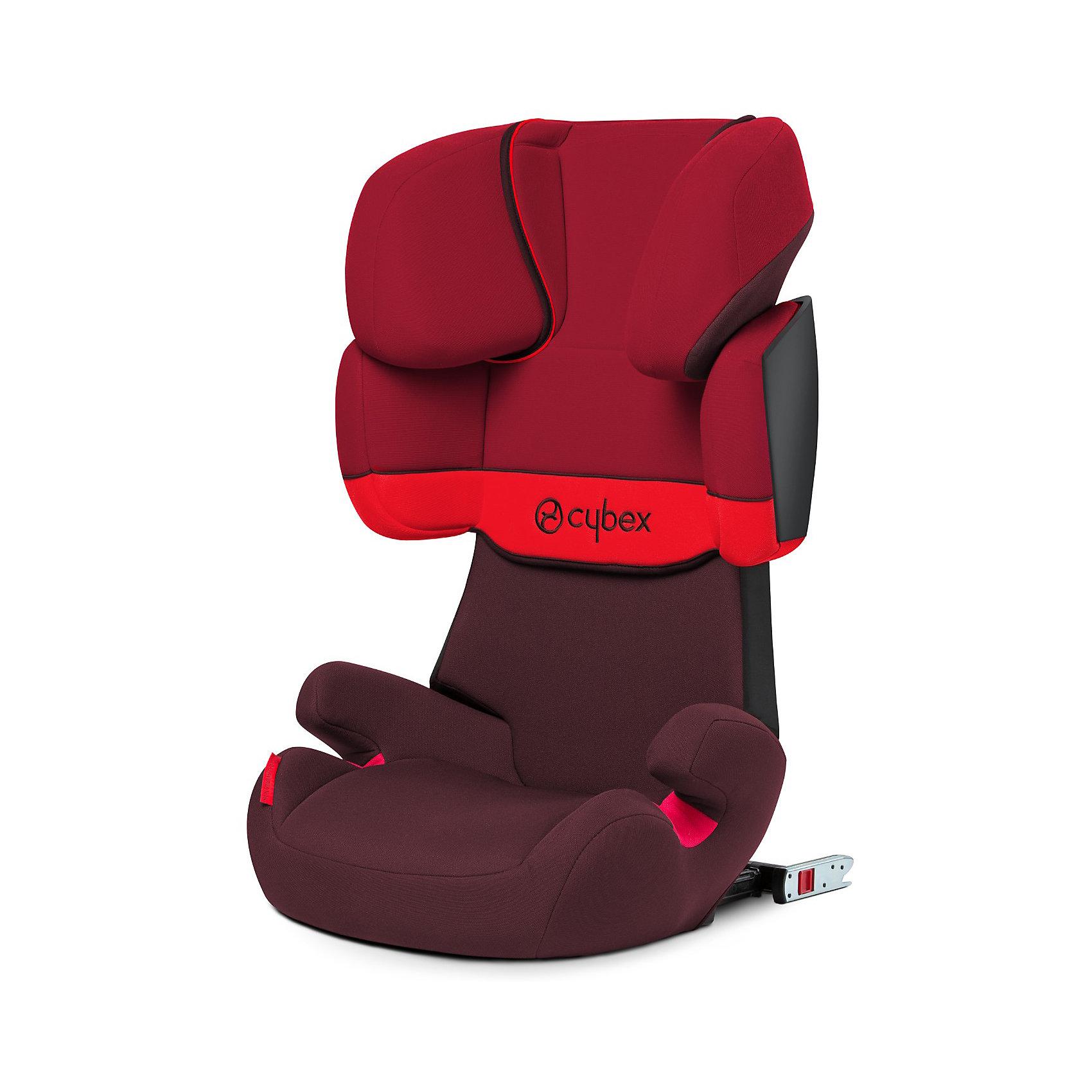 Автокресло Solution X-Fix, 15-36 кг, Cybex, Rumba Red