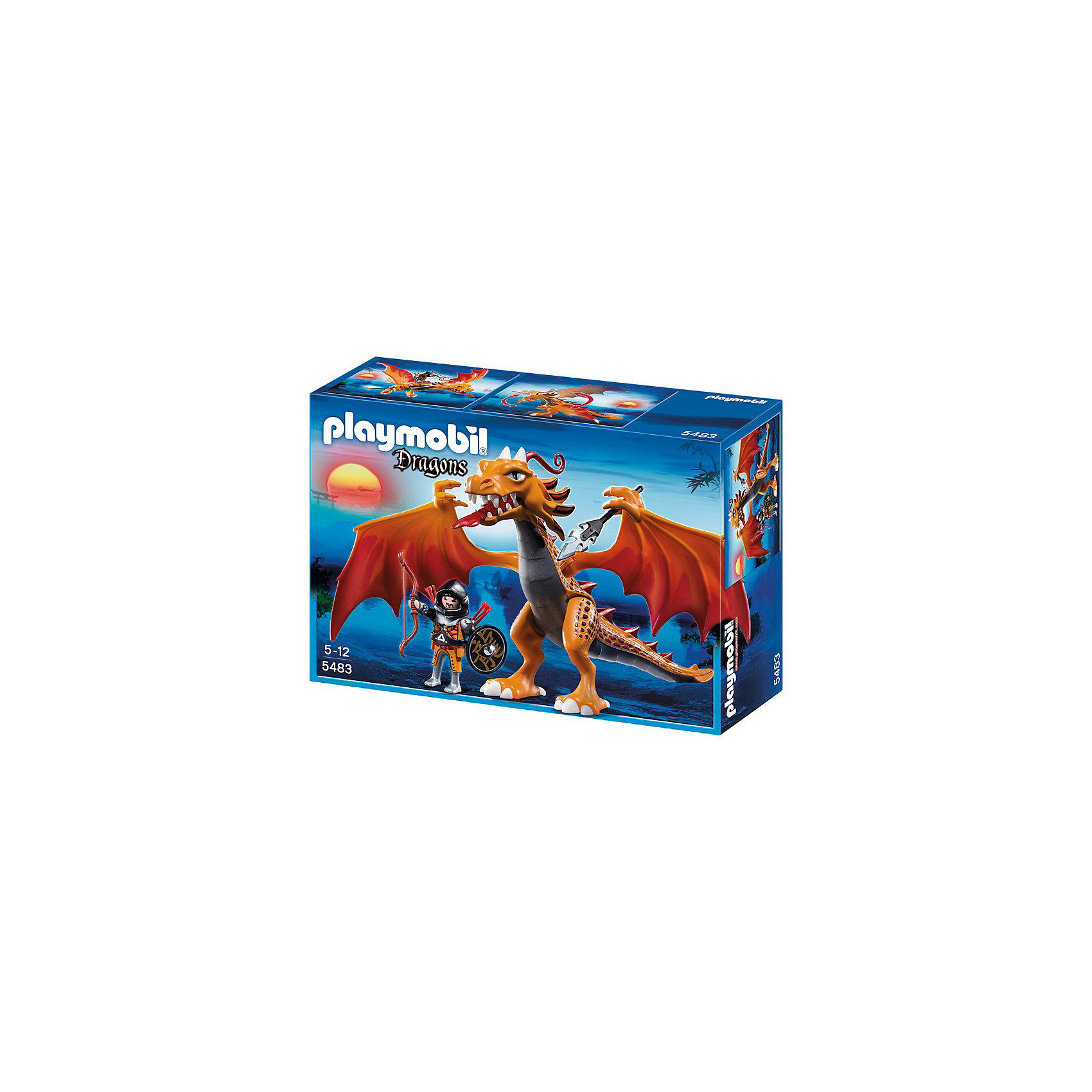 PLAYMOBIL 5483 Азиатский дракон: Огненный дракон от myToys