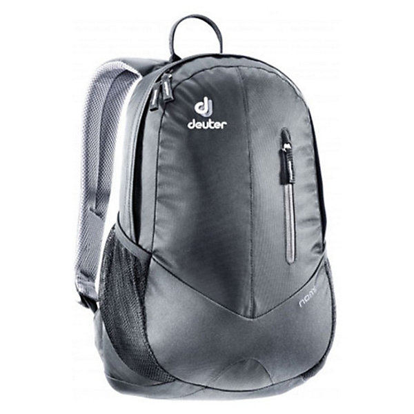 Deuter Рюкзак Nomi серыйДорожные сумки и чемоданы<br>Рюкзак Nomi, Deuter,  черный – это маленький легкий рюкзак ваш надежный спутник в городской суете.<br>Рюкзак Nomi - отличный выбор для походов в бассейн, тренировку или как ручная кладь в самолете. Рюкзак имеет основное отделение с карманом для нeтбука/документов, большой передний карман, боковые карманы из сетки. Предусмотрен удобный доступ в основное отделение с помощью двусторонней u-образной молнии. Система спины Airstripes - два объемных контура из многослойной пены обтянуты трехмерной дышащей сеткой, между ними воздушный канал. Рюкзак минимально прилегает к спине. Анатомические лямки с трехмерной дышащей сеткой принимают форму плеч.<br><br>Дополнительная информация:<br><br>- Вес: 500 г.<br>- Объём: 16 л.<br>- Размеры: 45x24x20 см.<br>- Материал: полиэстер<br>- отражатель 3M<br>- Цвет: черный<br><br>Рюкзак Nomi, Deuter,  черный можно купить в нашем интернет-магазине.<br>Ширина мм: 240; Глубина мм: 170; Высота мм: 450; Вес г: 400; Возраст от месяцев: 72; Возраст до месяцев: 144; Пол: Унисекс; Возраст: Детский; SKU: 3562604;