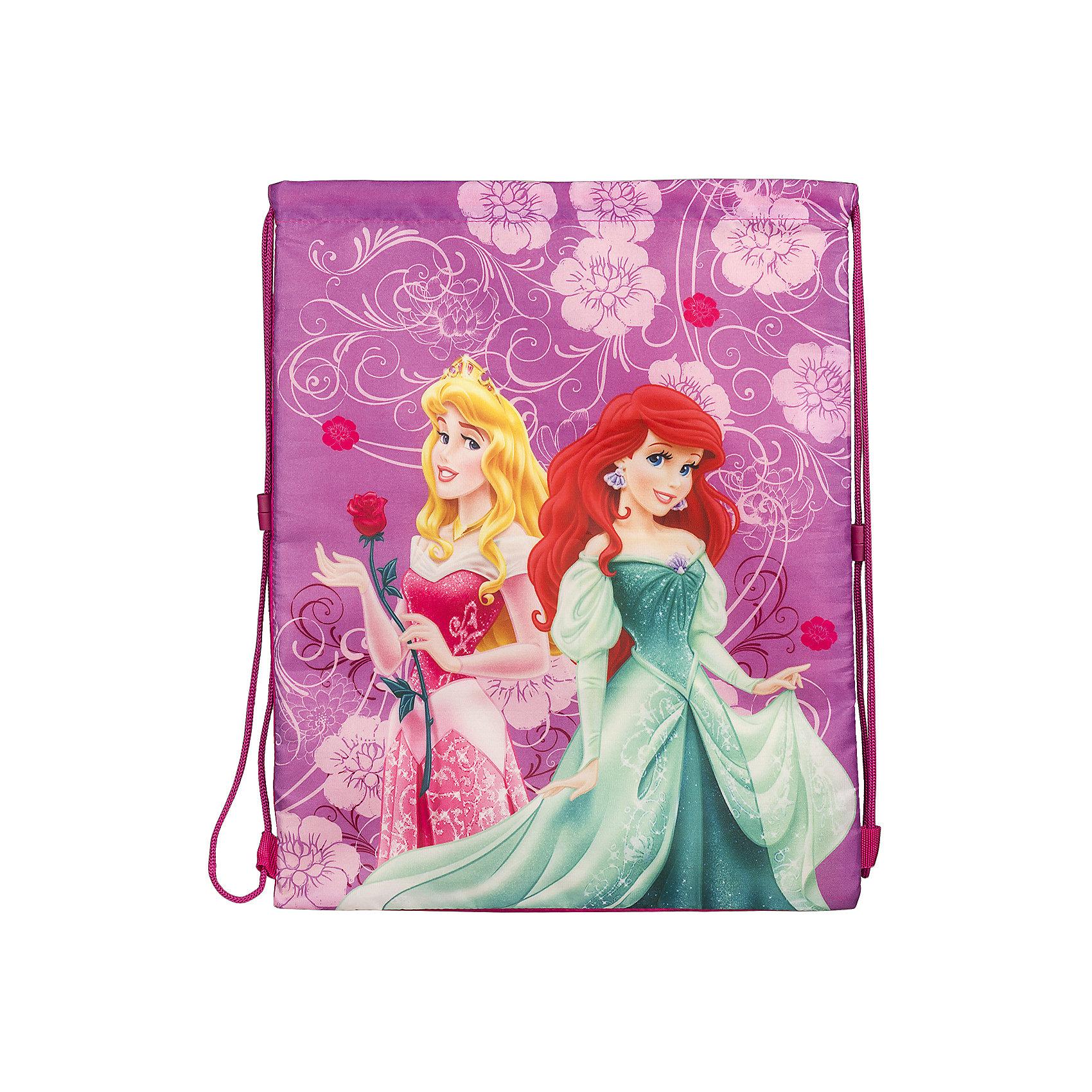 Академия групп Сумка-рюкзак для обуви, Принцессы Дисней академия групп жесткий пенал золушка принцессы дисней