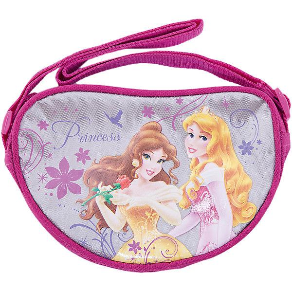 Сумка, Принцессы ДиснейДетские сумки<br>Сумка Disney Princess (Принцессы Диснея) в форме сердечка замечательный вариант для длительных прогулок а также стильный аксессуар для маленькой модницы. Небольшая сумочка-борсетка несмотря на свои небольшие габариты, вместит все самое необходимое. Сумочка носится через плечо, лямка регулируется, застежка на молнии.<br>Сумочка выполнена из прочных, гипоаллергенных материалов, в розовых тонах, с изображением принцесс из диснеевских мультфильмов.<br>  <br>Дополнительная информация:<br><br>- Цвет: розовый.<br>- Материал: полиэстер.<br>- Размер:13 x 18 x 5 см.<br>- Вес:  0,086 кг.<br><br>Сумку Disney Princess можно купить в нашем интернет-магазине.<br>Ширина мм: 130; Глубина мм: 180; Высота мм: 50; Вес г: 158; Возраст от месяцев: 48; Возраст до месяцев: 84; Пол: Женский; Возраст: Детский; SKU: 3562898;