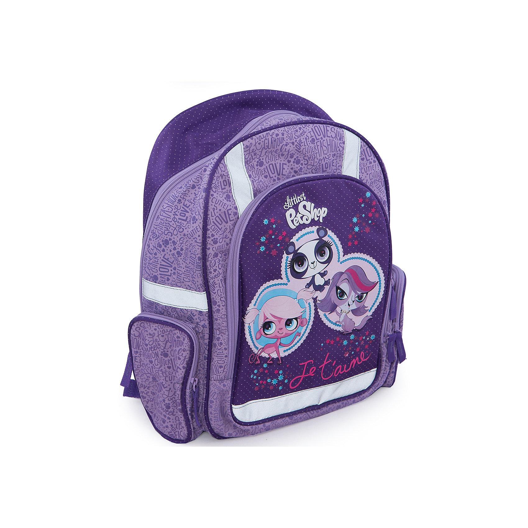 Эргономичный рюкзак с EVA-спинкой, Littlest Pet Shop