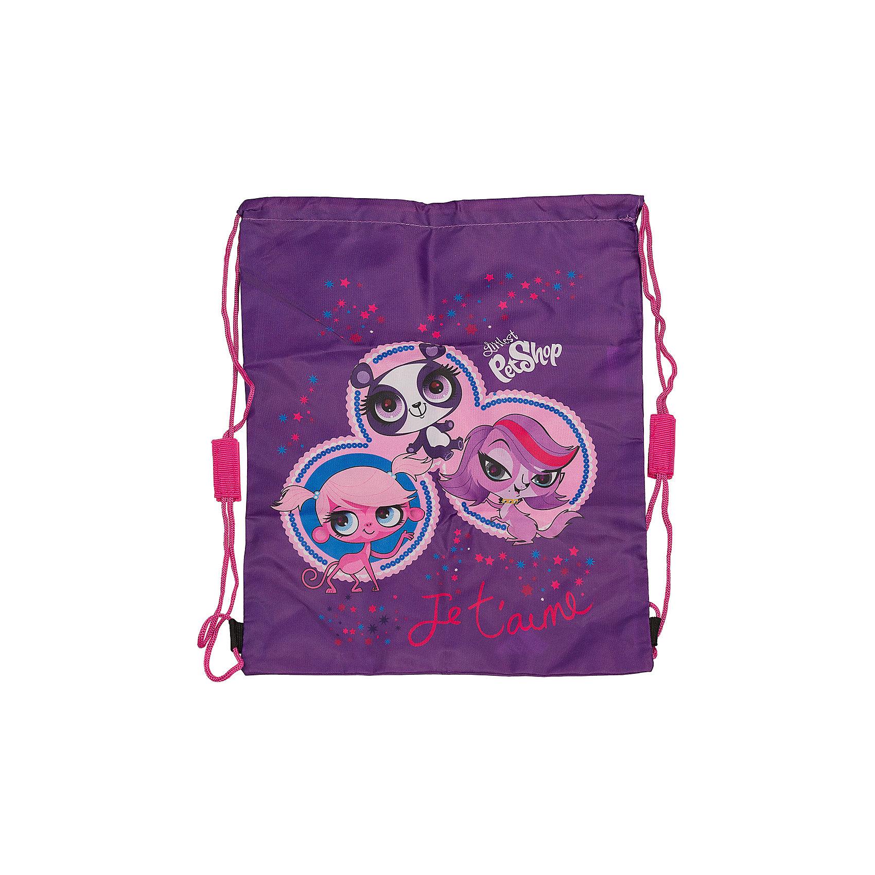 Академия групп Сумка-рюкзак для обуви  , Littlest Pet Shop мешок для обуви академия групп transformers 43 34см trbb ut1 883