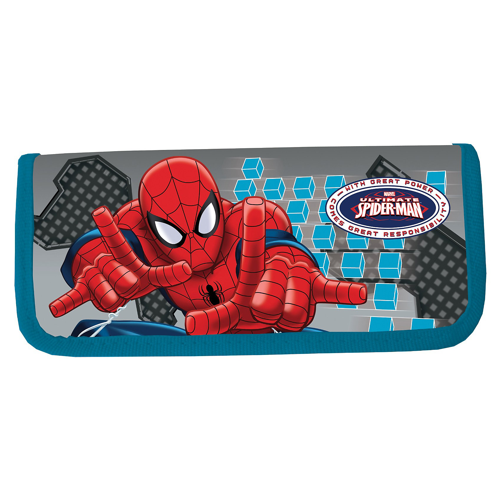 Пенал жесткий, Человек-ПаукПенал жесткий ламинированный Человек Паук понравится поклонникам мультфильма о приключениях необычного героя по имени Spider Man. В таком пенале очень удобно носить все необходимые школьные канцелярские принадлежности.<br>Пенал жесткий ламинированный Spider Man сделан в виде небольшой книжки<br>Внутри пенала имеются крепления для канцелярских принадлежностей<br>Поверхность пенала ламинированная<br>В качестве декора использован рисунок, сделанный по мотивам популярного мультфильма<br>Способ нанесения изображения - конгревное тиснение<br><br>Дополнительная информация:<br><br>- размер пенала: 20 х 9 х 3 см.<br>- материал: полиэстер<br><br>Пенал ламинированный Человек Паук  можно купить в нашем магазине.<br><br>Ширина мм: 210<br>Глубина мм: 90<br>Высота мм: 30<br>Вес г: 37<br>Возраст от месяцев: 48<br>Возраст до месяцев: 84<br>Пол: Мужской<br>Возраст: Детский<br>SKU: 3562972