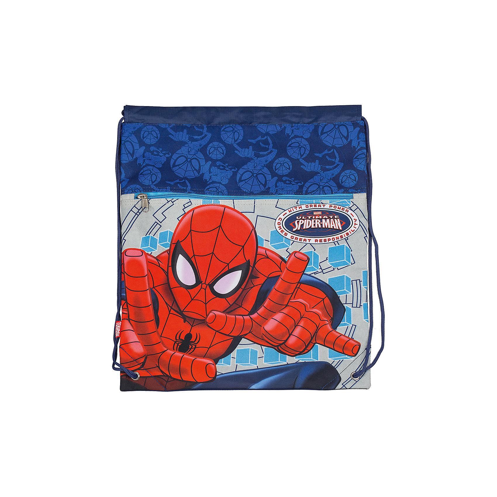 Сумка-рюкзак для обуви, Человек-ПаукМешки для обуви<br>Сумка-рюкзак для обуви, с дополнительным карманом.<br>Сумку-рюкзак для обуви, Человек-Паук (Spider-Man) можно купить в нашем магазине.<br><br>Ширина мм: 350<br>Глубина мм: 350<br>Высота мм: 20<br>Вес г: 500<br>Возраст от месяцев: 48<br>Возраст до месяцев: 84<br>Пол: Мужской<br>Возраст: Детский<br>SKU: 3562975
