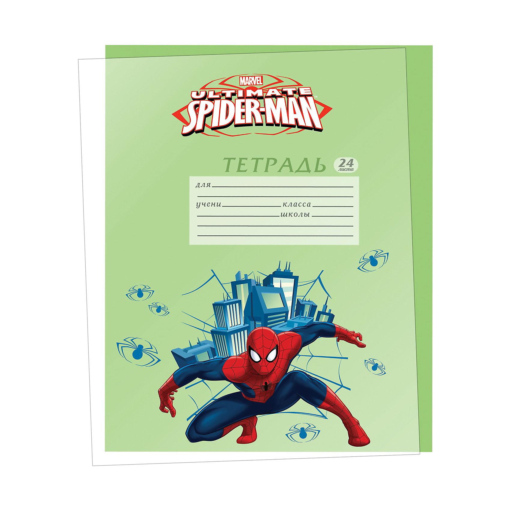 Обложки для тетрадей, Человек-ПаукЧеловек-Паук<br>Обложки для тетрадей прозрачные с  изображением супергероя Человека-паука (Spider Man) станут прекрасным помощником Вашему первокласснику в школе и защитят тетради с домашними заданиями.<br><br>Дополнительная информация:<br><br>- количество: 5 шт. в наборе. <br>- размеры: 21,2 х 35 см.<br><br>Обложки для тетрадей Spider Man можно купить в нашем магазине.<br><br>Ширина мм: 200<br>Глубина мм: 160<br>Высота мм: 10<br>Вес г: 100<br>Возраст от месяцев: 48<br>Возраст до месяцев: 84<br>Пол: Мужской<br>Возраст: Детский<br>SKU: 3563000