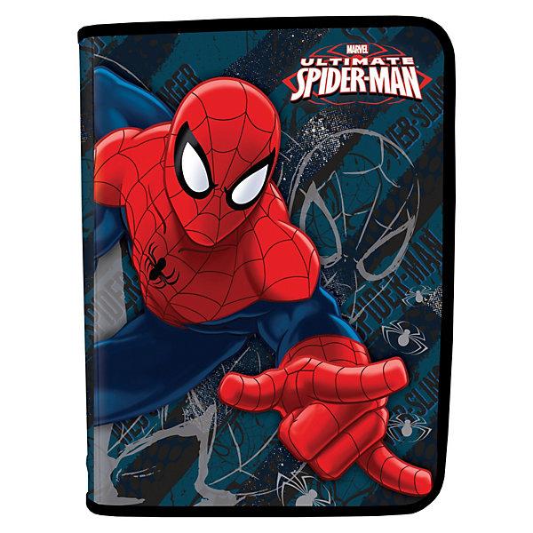 Папка для тетрадей на молнии, Человек-ПаукПапки для тетрадей<br>Папка для тетрадей пластиковая на молнии с изображением супергероя Человеа-паука (Spider Man) позволит Вашему ребенку сохранить в целости и сохранности все школьные тетради!<br><br>Дополнительная информация:<br><br>- материал: полипропилен<br>- количество отделений: 1<br>- тип замка: молния (молния с 3-х сторон)<br><br>Папку для тетрадей на молнии Spider Man можно купить в нашем магазине.<br>Ширина мм: 228; Глубина мм: 377; Высота мм: 10; Вес г: 300; Возраст от месяцев: 48; Возраст до месяцев: 84; Пол: Мужской; Возраст: Детский; SKU: 3563001;