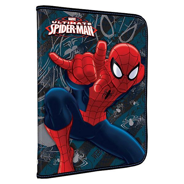 Папка для труда на молнии, Человек-ПаукЧеловек-Паук<br>Папка для труда Spider-Man (Человек-Паук) будет отличным помощником Вашему ребенку в школе.<br> <br>Дополнительная информация:<br><br>- имеется дополнительный вкладыш с креплениями для канцелярских пренадлежностей. <br>- размеры упаковки: 48 х 32 см.<br><br>Папку для труда Spider Man можно купить в нашем магазине.<br><br>Ширина мм: 484<br>Глубина мм: 324<br>Высота мм: 10<br>Вес г: 170<br>Возраст от месяцев: 48<br>Возраст до месяцев: 84<br>Пол: Мужской<br>Возраст: Детский<br>SKU: 3563005