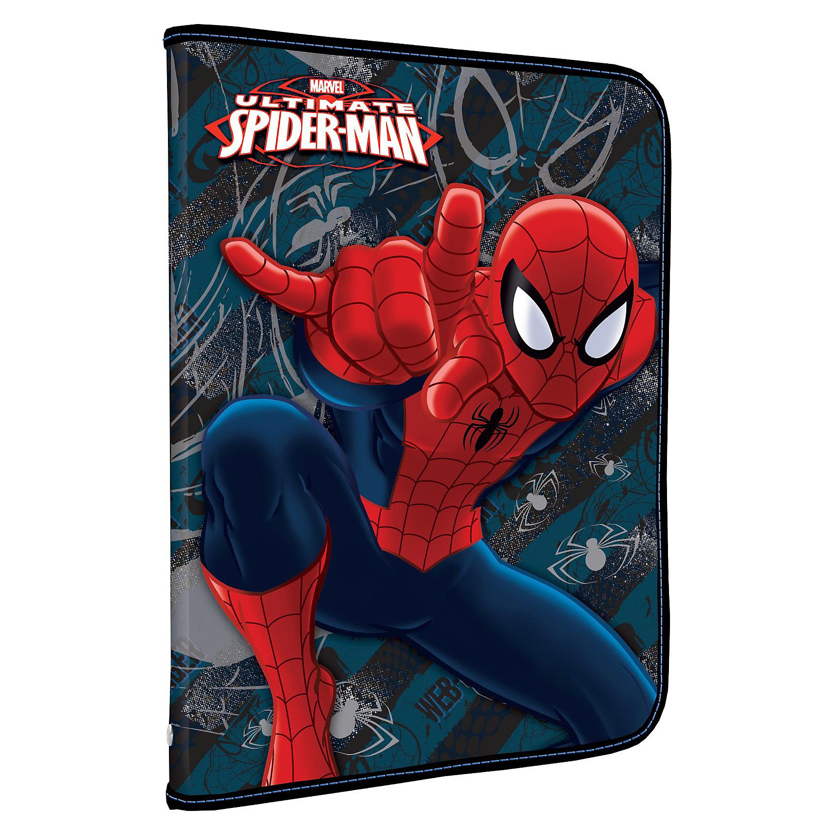 Папка для труда на молнии, Человек-ПаукПапки для труда<br>Папка для труда Spider-Man (Человек-Паук) будет отличным помощником Вашему ребенку в школе.<br> <br>Дополнительная информация:<br><br>- имеется дополнительный вкладыш с креплениями для канцелярских пренадлежностей. <br>- размеры упаковки: 48 х 32 см.<br><br>Папку для труда Spider Man можно купить в нашем магазине.<br><br>Ширина мм: 484<br>Глубина мм: 324<br>Высота мм: 10<br>Вес г: 170<br>Возраст от месяцев: 48<br>Возраст до месяцев: 84<br>Пол: Мужской<br>Возраст: Детский<br>SKU: 3563005