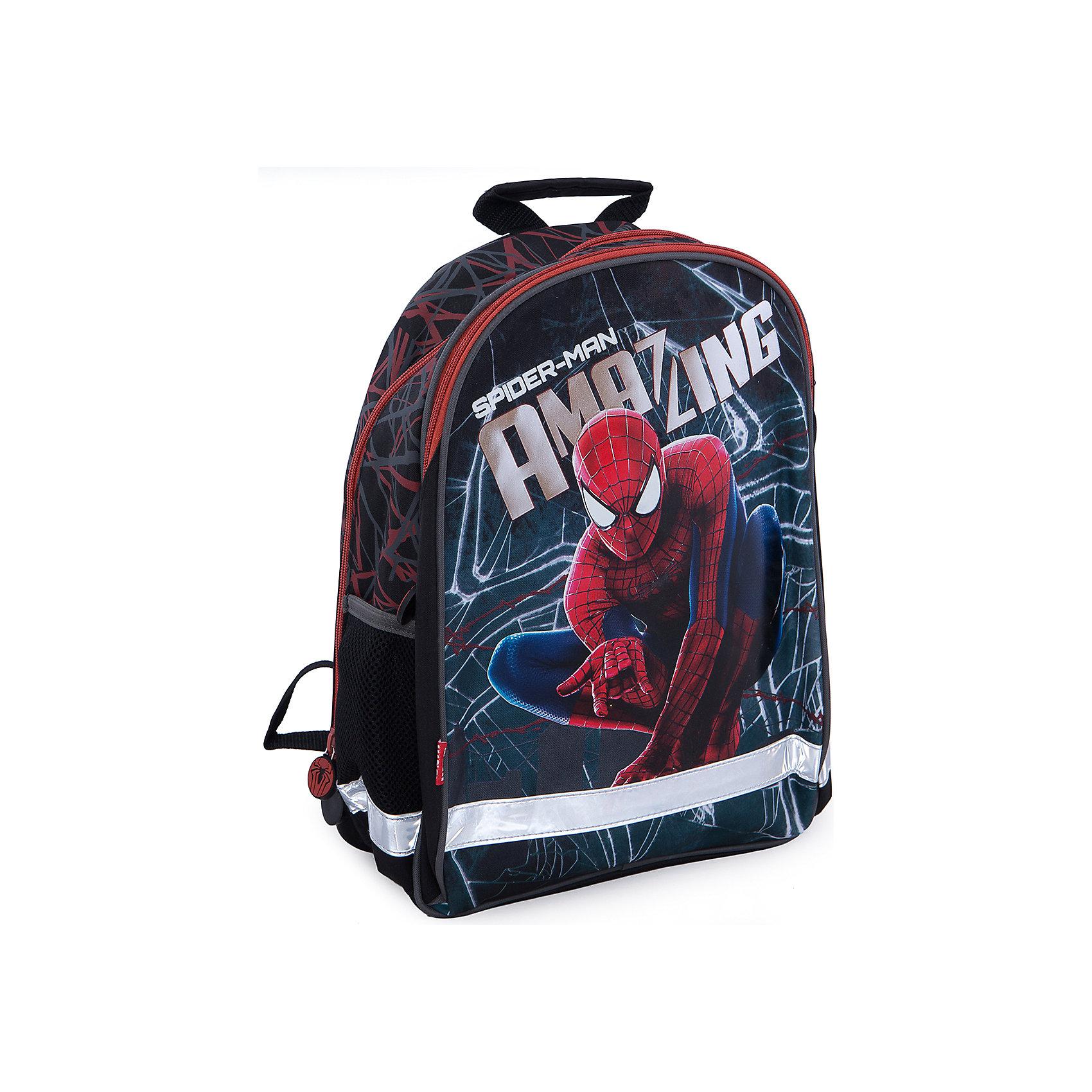 Школьный рюкзак с мягкой спинкой, Человек-Паук