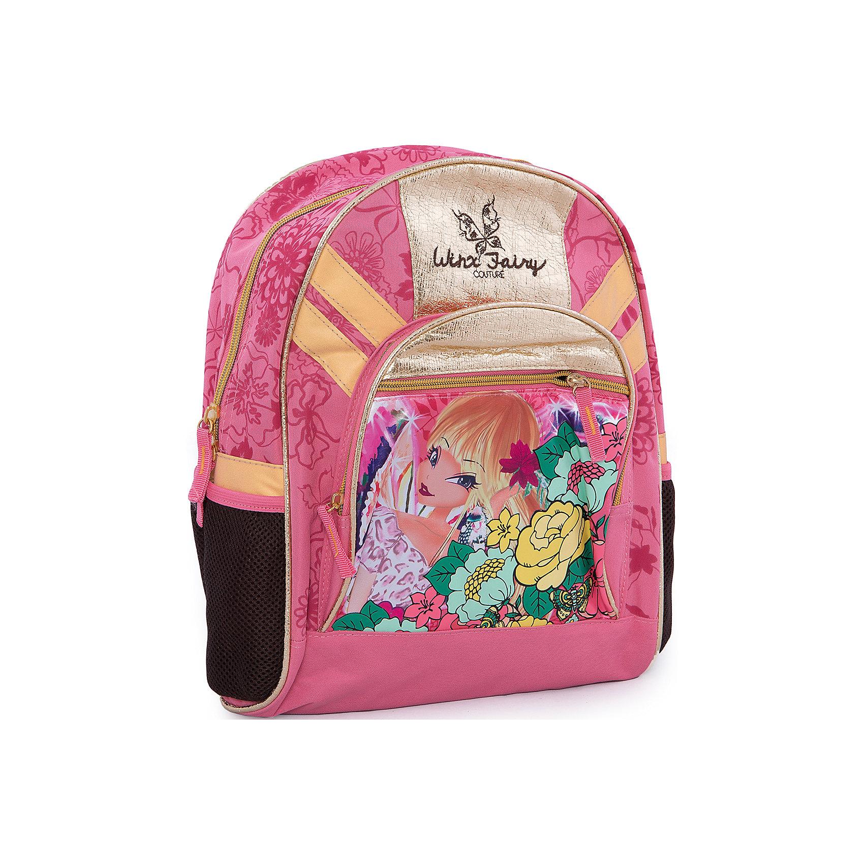 Школьный рюкзак, Winx ClubРюкзак, мягкая спинка, Winx Club (Клуб Винкс) — стильная вещь для маленьких поклонниц Winx. Мягкая спинка с вентиляционной спинкой обеспечивает комфорт при использовании. Лямки регулируются. Сверху рюкзака имеется дополнительная удобная ручка. Рюкзак ярко-розового цвета украшен картинкой в стиле WinxClub.<br><br>Яркий аксессуар станет прекрасным подарком юным поклонницам WinxClub!<br><br>Дополнительная информация:<br><br>- Материал: текстиль<br>- Размер: 36 х 29 х 14 см<br><br>Рюкзак, мягкая спинка, Winx Club (Клуб Винкс) можно купить в нашем интернет-магазине.<br><br>Ширина мм: 350<br>Глубина мм: 350<br>Высота мм: 200<br>Вес г: 800<br>Возраст от месяцев: 96<br>Возраст до месяцев: 108<br>Пол: Женский<br>Возраст: Детский<br>SKU: 3563083