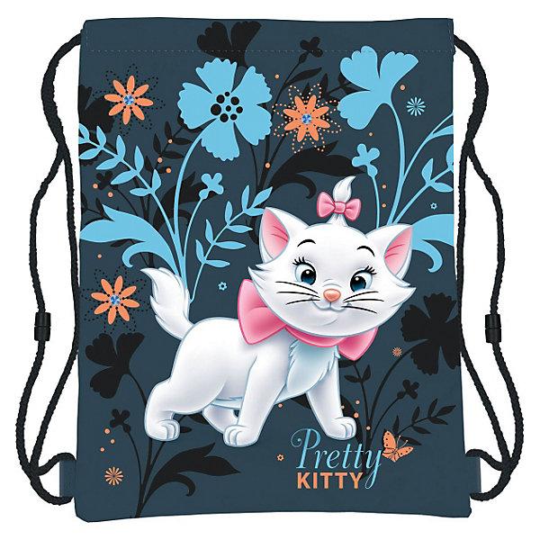 Сумка-рюкзак для обуви Кошка Мари, Коты-АристократыКоты-Аристократы<br>Сумка-рюкзак для обуви Marie Cat (кошка Мари) нежной сине-голубой расцветки идеально подойдет для сменной обуви маленькой школьницы и для физкультурной формы. <br><br>Рюкзачок выполнен из прочной непромокаемой ткани, по бокам затягивается специальными шнурками. Лицевая сторона украшена изображением очаровательной белой<br>кошечки Мари, героини диснеевского мультфильма Коты-Аристократы.<br><br>Дополнительная информация:<br><br>- Материал: полиэстер.<br>- Размер: 43 х 34 см.<br>- Вес: 100 гр.<br><br>Сумку-рюкзак для обуви Marie Cat можно купить в нашем интернет-магазине.<br>Ширина мм: 160; Глубина мм: 180; Высота мм: 15; Вес г: 71; Возраст от месяцев: 96; Возраст до месяцев: 108; Пол: Женский; Возраст: Детский; SKU: 3563106;