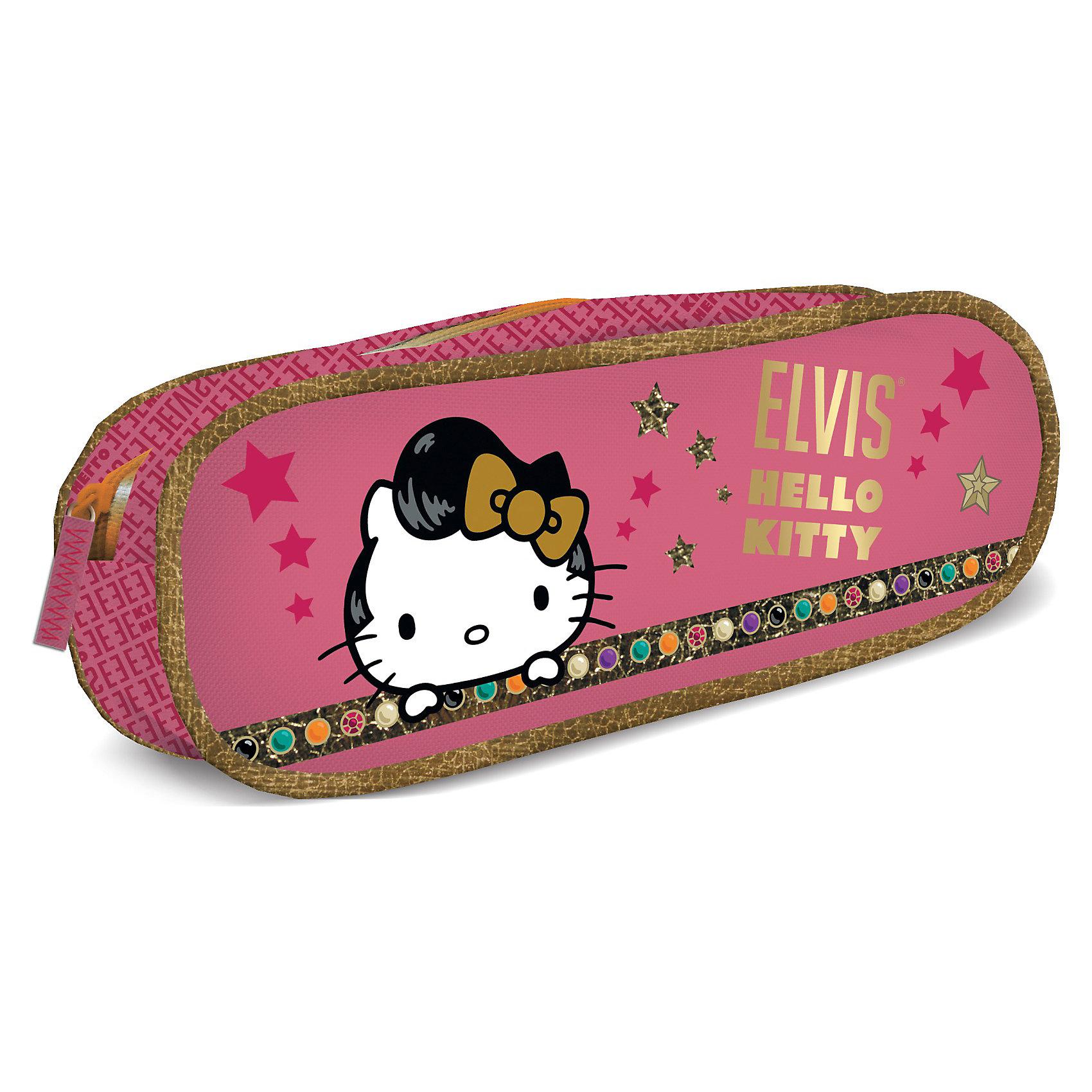 Пенал, Hello KittyПенал, Hello Kitty (Хеллоу Китти) — обязательная вещь при необходимости организации порядка в школьной сумке. Пенал выполнен в виде косметички, очень вместителен. Ярко-розовый цвет и картинка с популярной кошечкой Hello Kitty обязательно привлекут внимание ребенка.<br><br>Порадуйте юную модницу прекрасным подарком!<br><br>Дополнительная информация:<br><br>- Размер: 8 х 21 х 5 см<br>- Вес: 105 г.<br><br>Пенал, Hello Kitty (Хеллоу Китти) можно купить в нашем интернет-магазине.<br><br>Ширина мм: 80<br>Глубина мм: 210<br>Высота мм: 50<br>Вес г: 105<br>Возраст от месяцев: 96<br>Возраст до месяцев: 108<br>Пол: Женский<br>Возраст: Детский<br>SKU: 3563123