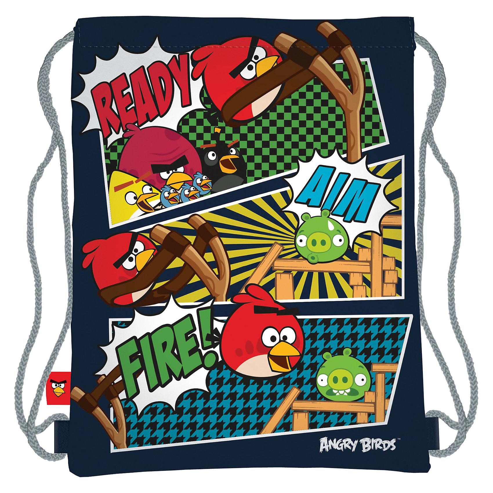 Спортивная сумка для обуви, Angry BirdsМешки для обуви<br>Спортивная сумка для обуви, Angry Birds (Энгри Бердс) — незаменимая вещь для школьника, сталкивающегося с необходимость носить сменную обувь. В сумку вмещается одна пара обуви. Шнурки-завязки служат лямками рюкзака. Сумка выполнена из водоотталкивающего материала, который легко моется, и долго сохраняет первоначальный внешний вид.<br><br>Порадуйте Вашего  ребенка прекрасным подарком!<br><br>Дополнительная информация:<br><br>- Материал: текстиль<br>- Размер: 43 х 34 см<br>- Вес: 70 г.<br><br>Спортивную сумку для обуви, Angry Birds (Злые Птички) можно купить в нашем интернет-магазине.<br><br>Ширина мм: 340<br>Глубина мм: 25<br>Высота мм: 400<br>Вес г: 710<br>Возраст от месяцев: 96<br>Возраст до месяцев: 108<br>Пол: Унисекс<br>Возраст: Детский<br>SKU: 3563161