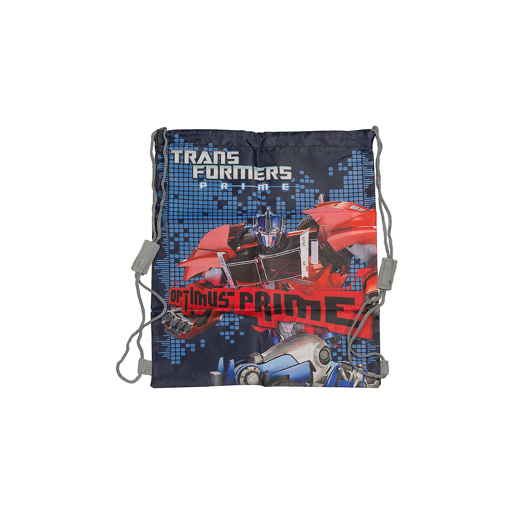 Академия групп Сумка-рюкзак для обуви, Трансформеры мешок для обуви академия групп transformers 43 34см trbb ut1 883