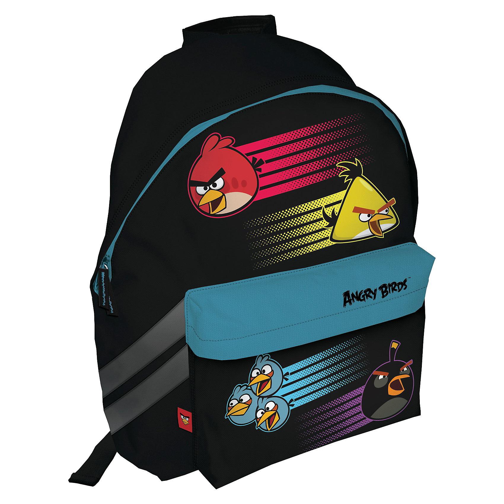 Школьный рюкзак, Angry BirdsШкольные рюкзаки<br>Рюкзак, Angry Birds (Энри Бердс) – станет прекрасным спутником Вашего ребенка в школу.<br>Спинка выполнена с использованием высокотехнологичного водонепроницаемого упругого материала. Увеличенная ширина лямок позволяет снизить нагрузку на надплечье. Регулируемая длина гарантирует, что рюкзак подойдет ребенку любого роста. Текстильная ручка позволяет удобно переносить рюкзак в руках. Светоотражающие элементы на лямках и корпусе рюкзака делают ребенка более заметным для водителей и повышают безопасность ребенка на дороге. Карманы: вместительный наружный карман на скрытой молнии предназначен для предметов средних размеров; один накладной карман на молнии предназначен для хранения средних и мелких предметов. Основной отдел на молнии состоит из одного отделения и предназначен для размещения изделий размером до А4 формата включительно, без сложений. Дно укреплено высокотехнологичным водонепроницаемым упругим материалом.<br><br>Дополнительная информация:<br><br>- Размер: 40x 31x15 см.<br><br>Рюкзак, Angry Birds (Энри Бердс) можно купить в нашем интернет-магазине.<br><br>Ширина мм: 350<br>Глубина мм: 350<br>Высота мм: 200<br>Вес г: 800<br>Возраст от месяцев: 72<br>Возраст до месяцев: 144<br>Пол: Унисекс<br>Возраст: Детский<br>SKU: 3563254