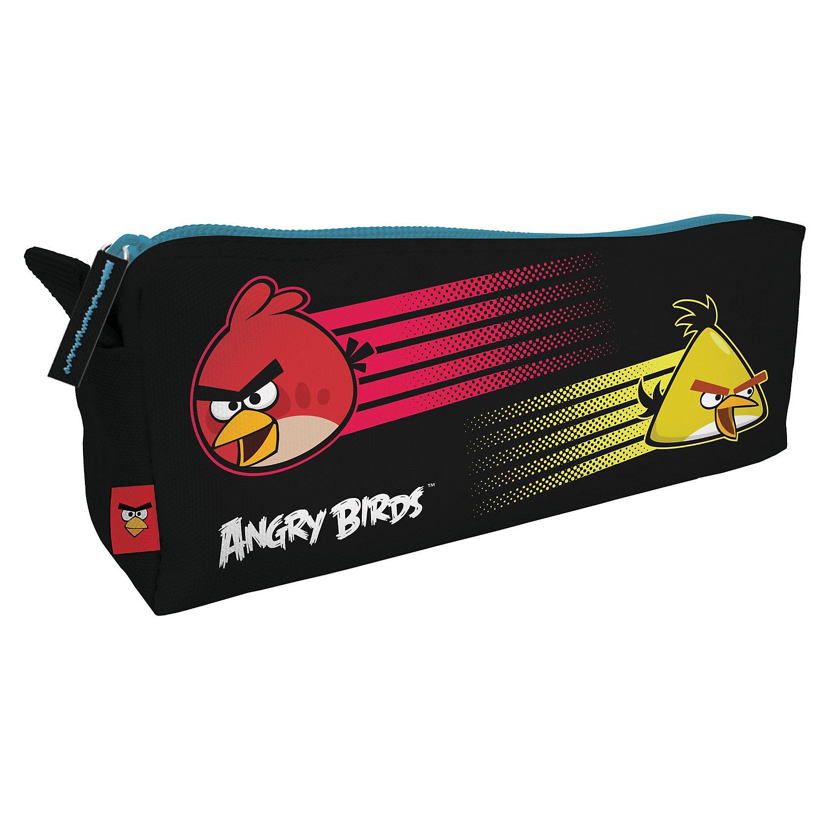 Пенал-косметичка, Angry BirdsПеналы без наполнения<br>Пенал Angry Birds (Энгри Бердс) поможет Вашему ребенку организовать свое школьное место и собрать все канцтовары в школу.<br><br>Пенал Angry Birds (Энгри Бердс) понравится школьникам разного возраста и пола. В него удобно складывать канцелярские принадлежности, носить с собой разные мелочи, а можно использовать этот пенал как оригинальную косметичку. Пенал-косметичка изготовлен из мягкого текстиля, закрывается на застежку-молнию.<br><br>Дополнительная информация:<br>- Размер: 80х20 мм.<br>- Материал: полиэстер<br><br>Пенал-косметичку Angry Birds (Злые Птички) можно купить в нашем интернет-магазине.<br><br>Ширина мм: 260<br>Глубина мм: 150<br>Высота мм: 150<br>Вес г: 300<br>Возраст от месяцев: 120<br>Возраст до месяцев: 144<br>Пол: Унисекс<br>Возраст: Детский<br>SKU: 3563256