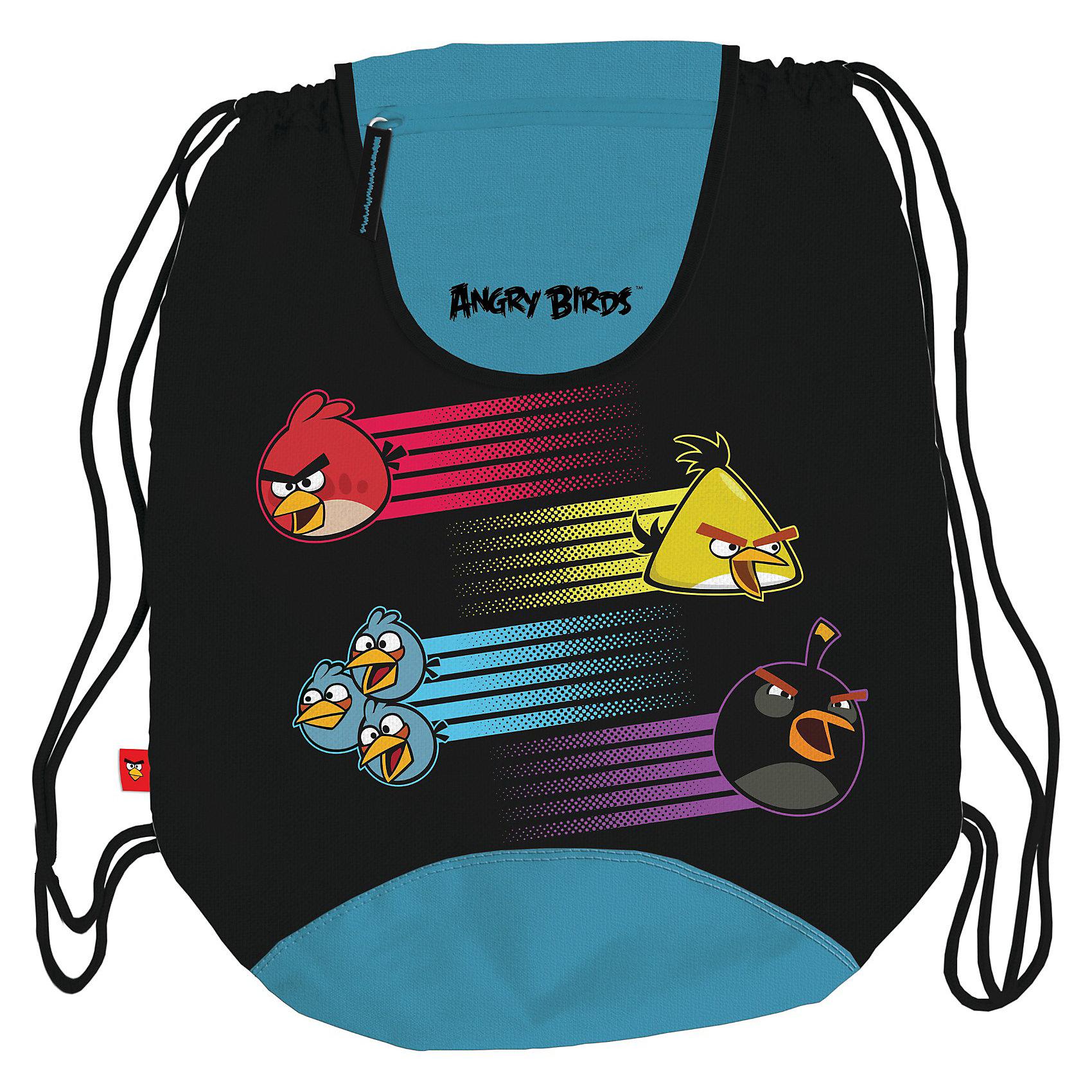 Спортивная сумка для обуви, Angry Birds
