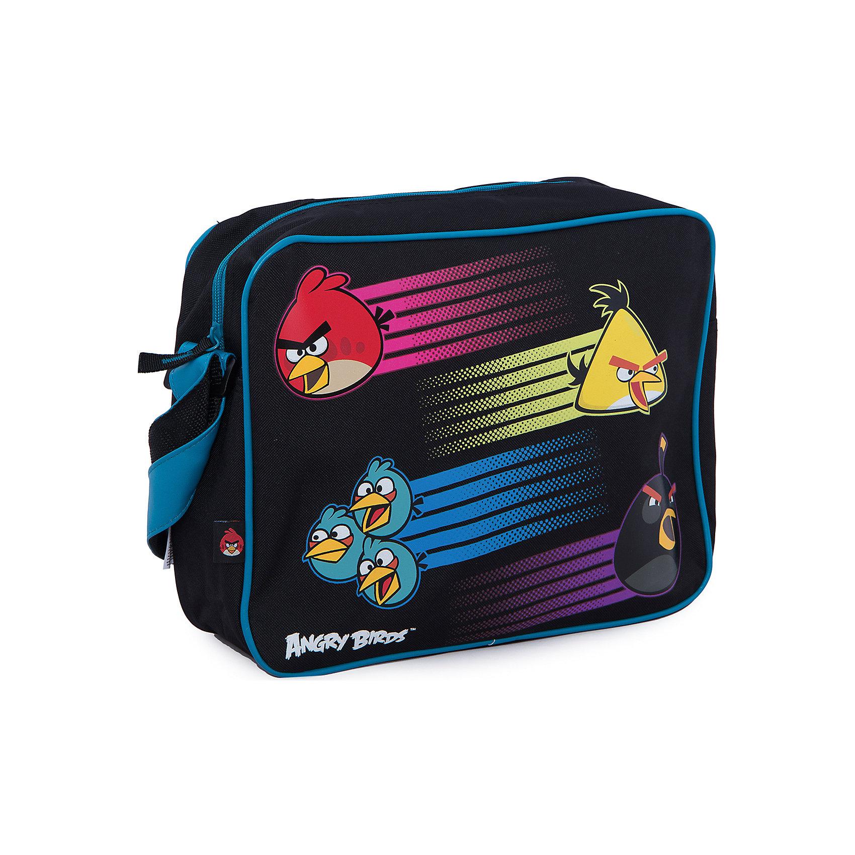 Сумка спортивная, Angry BirdsСумка спортивная, Angry Birds (Энгри Бердс) – наверняка понравится Вашему ребенку, поклоннику игры Angry Birds.<br>Качественная, оригинальная, спортивная сумка через плечо, которая подчеркнет индивидуальность и стиль ее владельца. Об этой сумке можно сказать только положительные слова: она качественная, удобная, небольшая, но в тоже время вместительная. Имеет одну шлейку через плечо сменной длины. Застегивается на молнию. <br><br>Дополнительная информация:<br><br>- Размер: 27х35х11 см.<br><br>Сумку спортивную, Angry Birds (Злые Птички) можно купить в нашем интернет-магазине.<br><br>Ширина мм: 270<br>Глубина мм: 350<br>Высота мм: 110<br>Вес г: 500<br>Возраст от месяцев: 120<br>Возраст до месяцев: 144<br>Пол: Унисекс<br>Возраст: Детский<br>SKU: 3563261