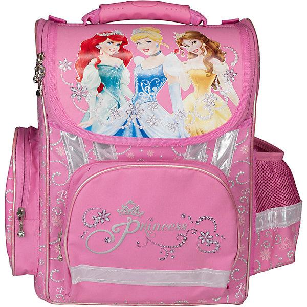 Эргономичный рюкзак, Принцессы ДиснейРанцы<br>Рюкзак эргономичный, Disney Princess (Принцессы Диснея) - это максимально удобный и функциональный по своим характеристикам рюкзак.<br>Рюкзак эргономичный, Disney Princess с изображением любимых героинь популярных мультфильмов Уолта Диснея не только красивый, но и очень удобный. Красочный дизайн рюкзака обязательно понравится вашей юной принцессе. Рюкзак с жестким каркасом, у него ортопедическая спинка, выполненная из толстого поролона и усиленная пластиковой вставкой. Основное отделение снабжено плавающими карманами, 2 высоких боковых кармана на молнии, передний карман под пенал. Ручка с объемной пластиковой вставкой для удобства переноски рюкзака, ручка-петелька для подвешивания на крючок. Светоотражающие полосы на всех сторонах корпуса рюкзака позволяют хорошо видеть ребенка на проезжей части в темное время суток и в сумерках.<br><br>Дополнительная информация:<br><br>- Вес: 1011 гр.<br>- Размер: 35х26,5х13см.<br><br>Рюкзак эргономичный, Disney Princess (Принцессы Диснея) можно купить в нашем интернет-магазине.<br>Ширина мм: 350; Глубина мм: 265; Высота мм: 130; Вес г: 1011; Возраст от месяцев: 72; Возраст до месяцев: 84; Пол: Женский; Возраст: Детский; SKU: 3563273;