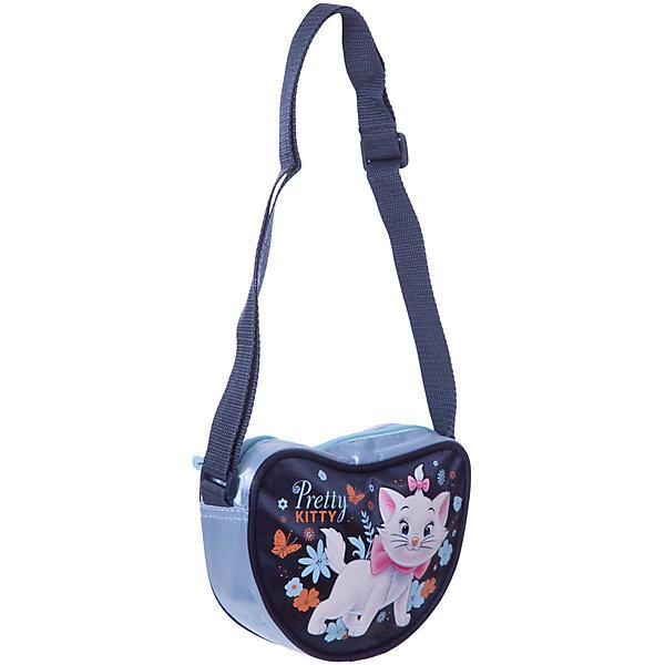 Сумка-сердечко Кошка Мари, Коты-АристократыДетские сумки<br>Сумка Cat (кошка Мари) в форме сердечка замечательный вариант для длительных прогулок а также стильный аксессуар для маленькой модницы. Симпатичная сумочка несмотря на свои небольшие габариты, вместит все самое необходимое. Сумочка носится через плечо, лямка регулируется, застежка на молнии. Лицевая сторона украшена изображением очаровательной белой кошечки Мери, героини диснеевского мультфильма  Коты Аристократы.<br><br>Дополнительная информация:<br><br>- Материал: полиэстер.<br>- Размер: 13 x 18 x 5 см.<br>- Вес: 100 гр.<br><br>Сумку Marie Cat можно купить в нашем интернет-магазине.<br><br>Ширина мм: 130<br>Глубина мм: 180<br>Высота мм: 50<br>Вес г: 158<br>Возраст от месяцев: 96<br>Возраст до месяцев: 108<br>Пол: Женский<br>Возраст: Детский<br>SKU: 3563276