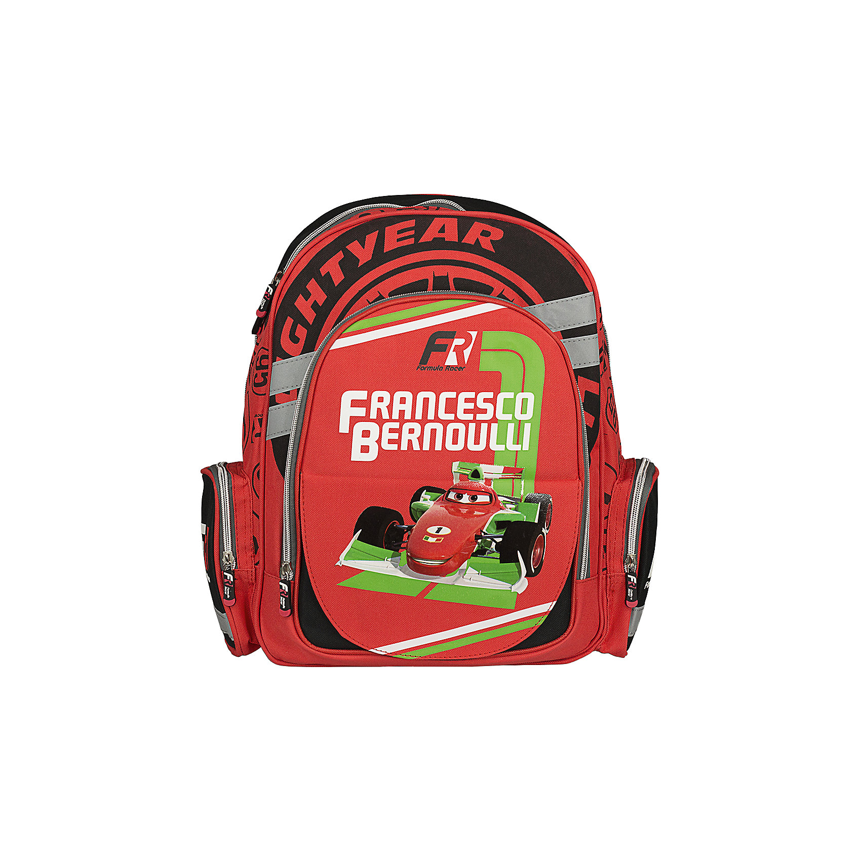 Эргономичный рюкзак с EVA-спинкой, ТачкиРюкзак с эргономичной EVA-спинкой, Тачки –  это максимально удобный и функциональный по своим характеристикам рюкзак.<br>Спинка рюкзака Тачки сделана из высокотехнологичного водонепроницаемого упругого материала (EVA), анатомически расположенные поролоновые вставки и специальная сетка для воздухообмена обеспечивают максимальный комфорт. Увеличенная ширина лямок позволяет снизить нагрузку на надплечье. Регулируемая длина гарантирует, что рюкзак подойдет ребенку любого роста. Высокотехнологичный водонепроницаемый упругий материал, поролон и специальная сетка для воздухообмена обеспечивают максимальный комфорт. Прорезиненная ручка позволяет удобно переносить рюкзак в руках. Светоотражающие элементы на лямках и корпусе рюкзака делают ребенка более заметным для водителей, и повышают безопасность ребенка на дороге. Карманы: вместительный наружный карман на молнии предназначен для предметов средних и крупных размеров, два боковых кармана на молнии предназначены для предметов мелких размеров. Один внутренний карман из сеточной ткани с утягивающей резинкой предназначен для хранения средних и мелких предметов. Основной отдел на молнии имеет 3 отделения и может размещать изделия размером до А4 формата включительно, без сложений. Дно укреплено пластиковой вставкой-трансформером, что позволяет быстро и удобно изменять размеры рюкзака. Изготовлен рюкзак из износостойкого и влагоизоляционного материала.<br><br>Дополнительная информация:<br><br>- Материал: полиэстер<br>- Магнитная панель, меняющая дизайн рюкзака<br>- Размер: 38х29х13 см.<br>- Вес: 735 гр.<br><br>Рюкзак с эргономичной EVA-спинкой, Тачки можно купить в нашем интернет-магазине.<br><br>Ширина мм: 380<br>Глубина мм: 290<br>Высота мм: 130<br>Вес г: 735<br>Возраст от месяцев: 48<br>Возраст до месяцев: 84<br>Пол: Мужской<br>Возраст: Детский<br>SKU: 3563291