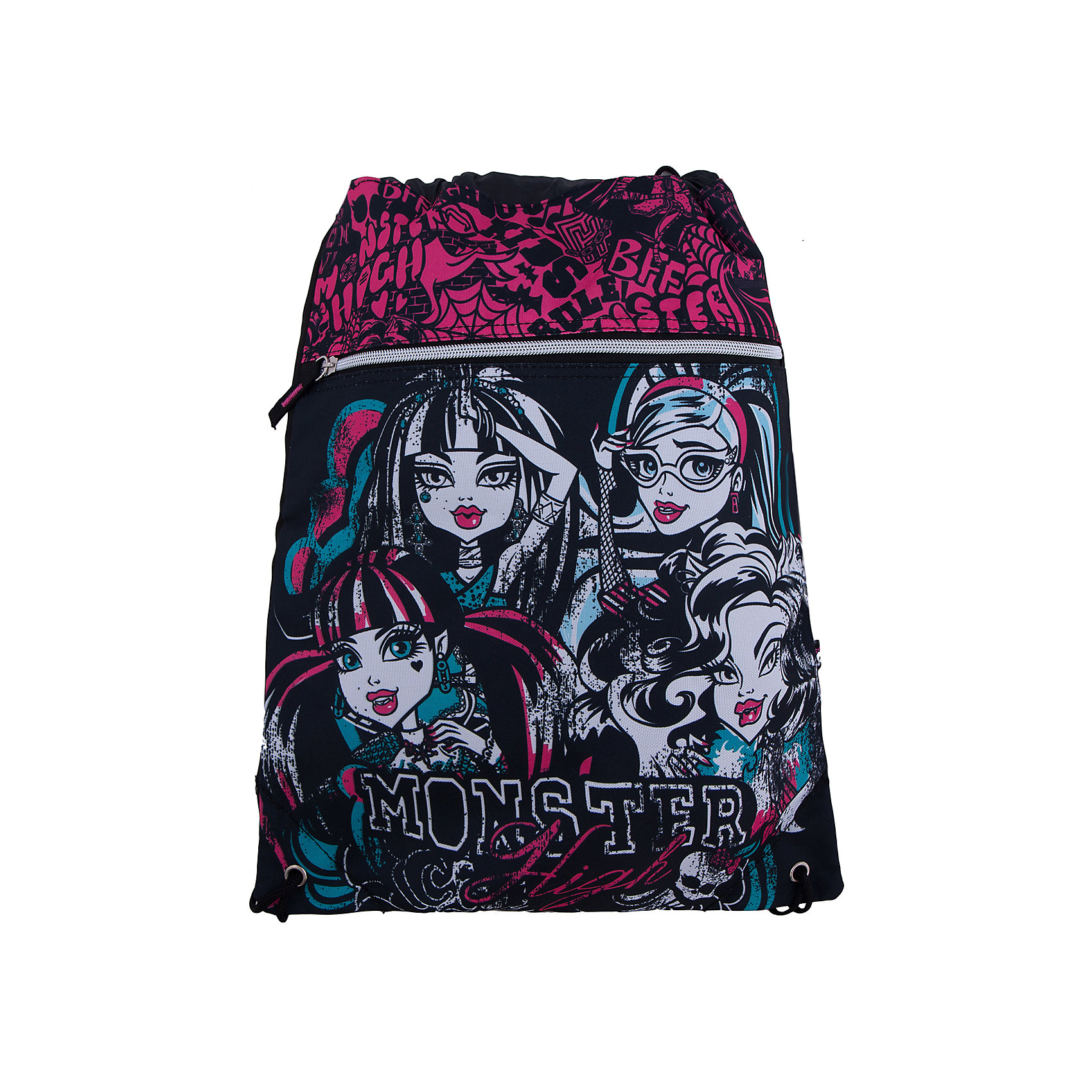 Академия групп Сумка-рюкзак для обуви, Monster High мешок для обуви академия групп transformers 43 34см trbb ut1 883