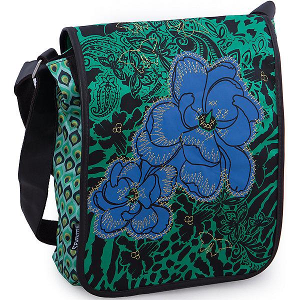 Сумка, SeventeenШкольные сумки<br>Подобрать сумку для старшеклассницы бывает непросто: современные школьницы внимательно следят за модой и отдают предпочтение стильным вещам. Чтобы дочка постоянно не одолжала Вашу сумку, подарите ей стильную новинку от Seventeen. Бренда, который за дизайн и удобство полюбили и школьники и студенты! Яркая сумка с уникальной расцветкой из прочного текстиля застегивается на надежную молнию. Помимо вместительного основного отделения в сумке имеются карманы для важных мелочей. Сумка из текстиля почти невесомая, что особенно важно для современных школьников, в прямом смысле слова загруженных учебниками и тетрадями.<br><br>Дополнительная информация:<br><br>- Стильный дизайн идеален для подростков;<br>- Легкая и компактная;<br>- Регулируемый по длине плечевой ремень позволяет носить сумку как на плече, так и через плечо;<br>- Сумка надежно закрывается на молнию;<br>- Размер: 33 х 26 х 9 см;<br>- Цвет: Зеленый;<br>- Материал: полиэстер;<br>- Вес: 0,4 кг.<br><br>Сумку, Seventeen можно купить в нашем интернет-магазине.<br>Ширина мм: 330; Глубина мм: 260; Высота мм: 90; Вес г: 500; Возраст от месяцев: 144; Возраст до месяцев: 144; Пол: Женский; Возраст: Детский; SKU: 3563328;