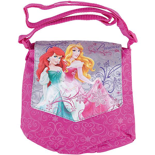 Сумочка, Принцессы ДиснейДетские сумки<br>Идеальный подарок для юной модницы: стильная и удобная сумочка Disney Princess (Принцессы Диснея). Яркая сумка с уникальной расцветкой из прочного текстиля застегивается на надежную молнию. В сумочке удобное основное отделение. Застегивается на клапан с изображением Disney Princess (Принцессы Диснея). Сумка из текстиля почти невесомая, но вместительная, благодаря удобному наплечному ремню с регулировкой длины подойдет для девочек любого роста.<br><br>Дополнительная информация:<br><br>- Яркий дизайн идеален для девочек;<br>- Легкая и компактная;<br>- Регулируемый по длине плечевой ремень позволяет носить сумку как на плече, так и через плечо;<br>- Сумка надежно закрывается на молнию;<br>- Закрывается на клапан Disney Princess (Принцессы Диснея) ;<br>- Размер: 18 х 21 см;<br>- Материал: полиэстер;<br>- Вес: 55 г.<br><br>Сумочку, Disney Princess (Принцессы Диснея) можно купить в нашем интернет-магазине.<br>Ширина мм: 350; Глубина мм: 350; Высота мм: 200; Вес г: 500; Возраст от месяцев: 48; Возраст до месяцев: 84; Пол: Женский; Возраст: Детский; SKU: 3563333;