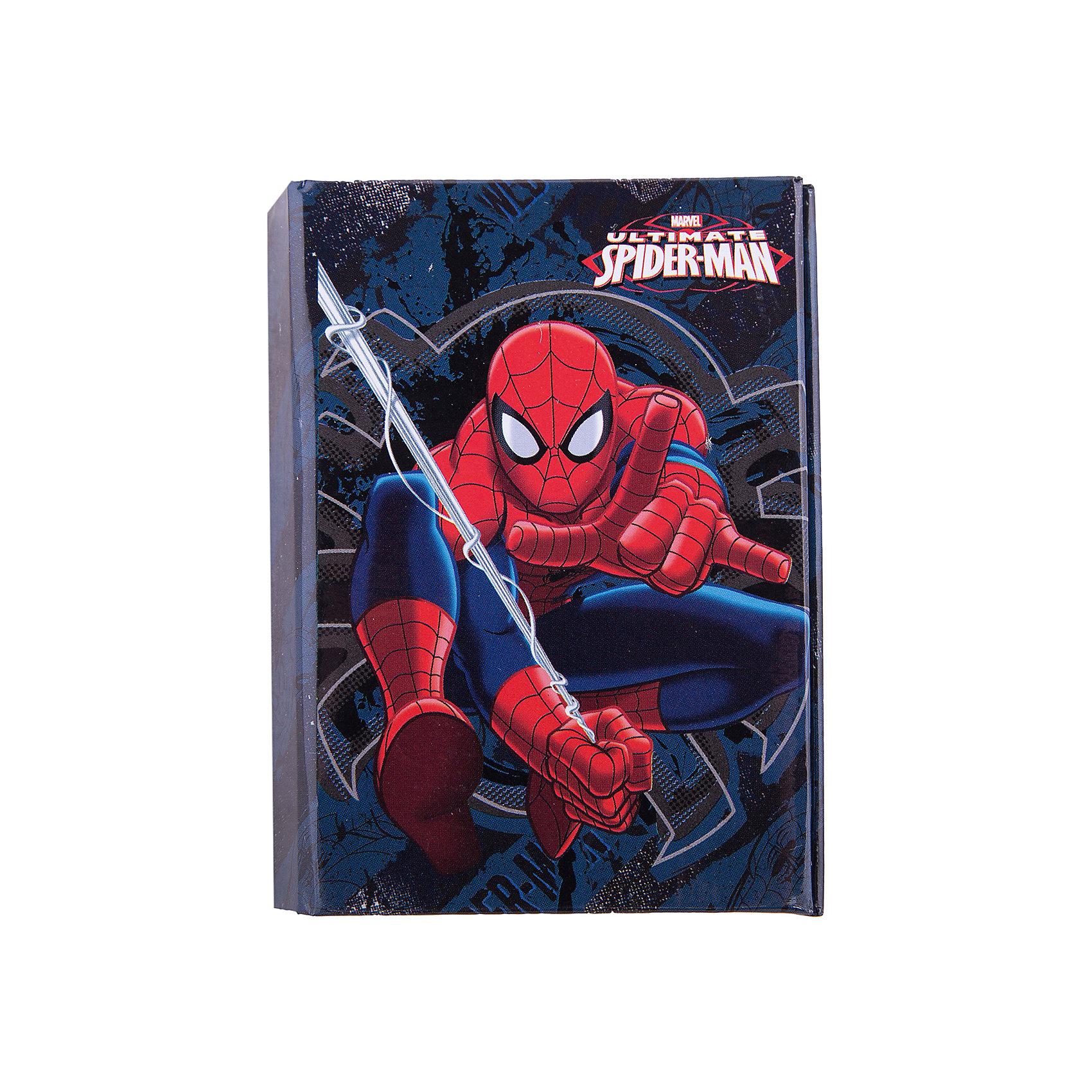 Органайзер складной: адресная книга, дневник, Человек-Паук