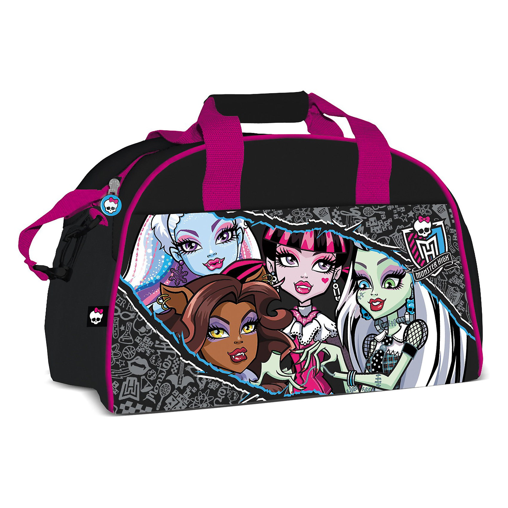 Сумка спортивная, Monster High