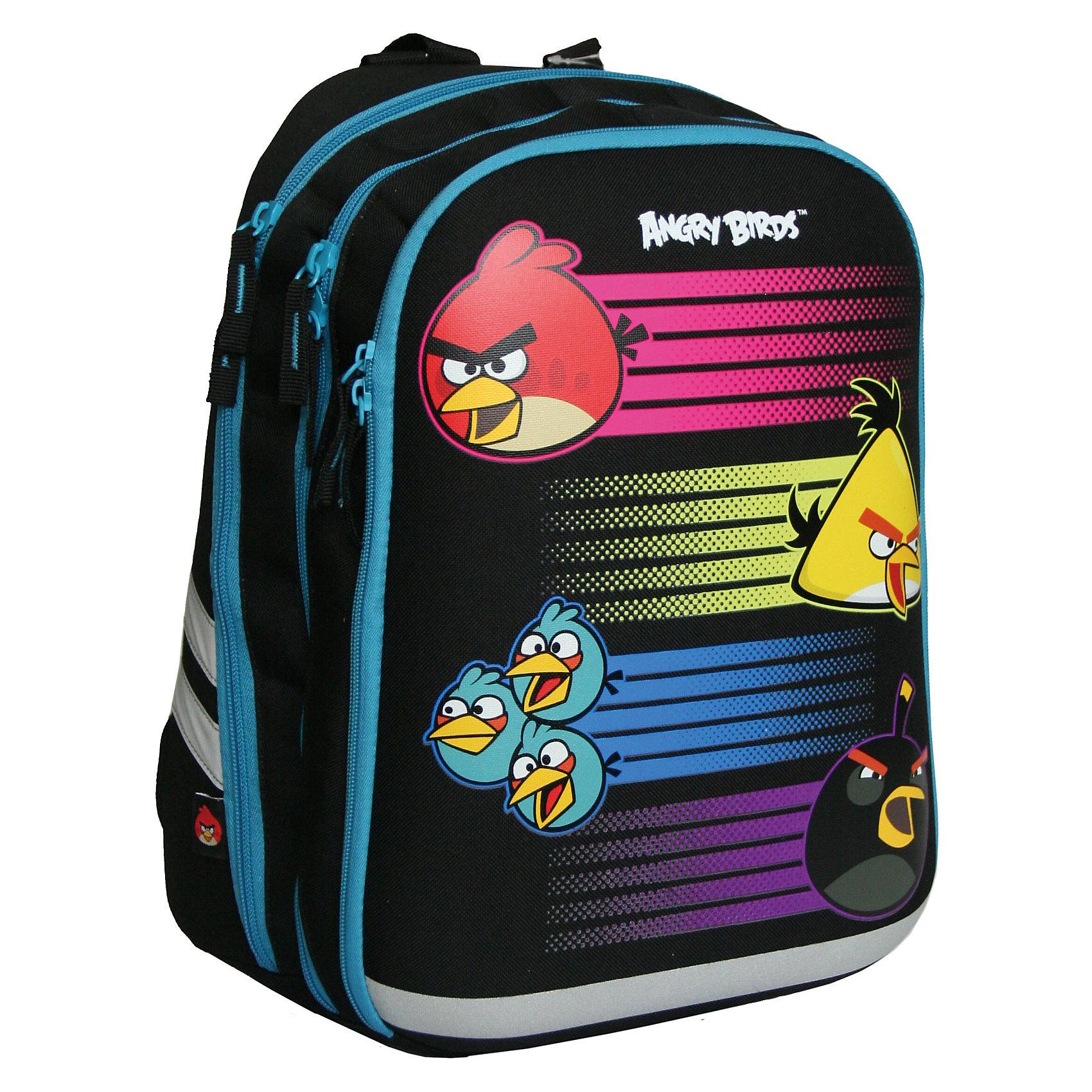 Академия групп Школьный рюкзак с ортопедической спинкой, Angry Birds академия групп сумка рюкзак для обуви angry birds